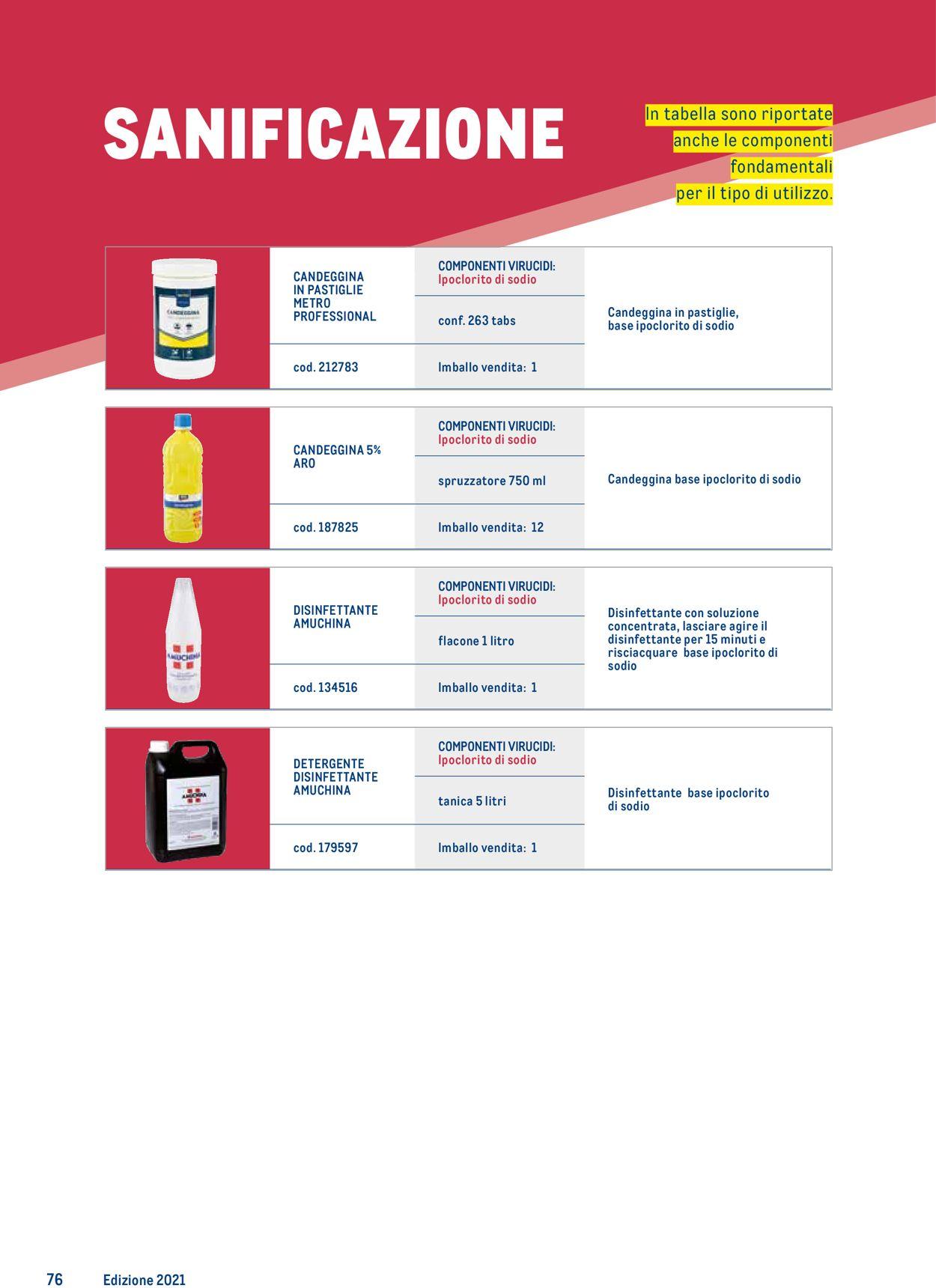 Volantino Metro - Offerte 25/03-24/03/2022 (Pagina 76)