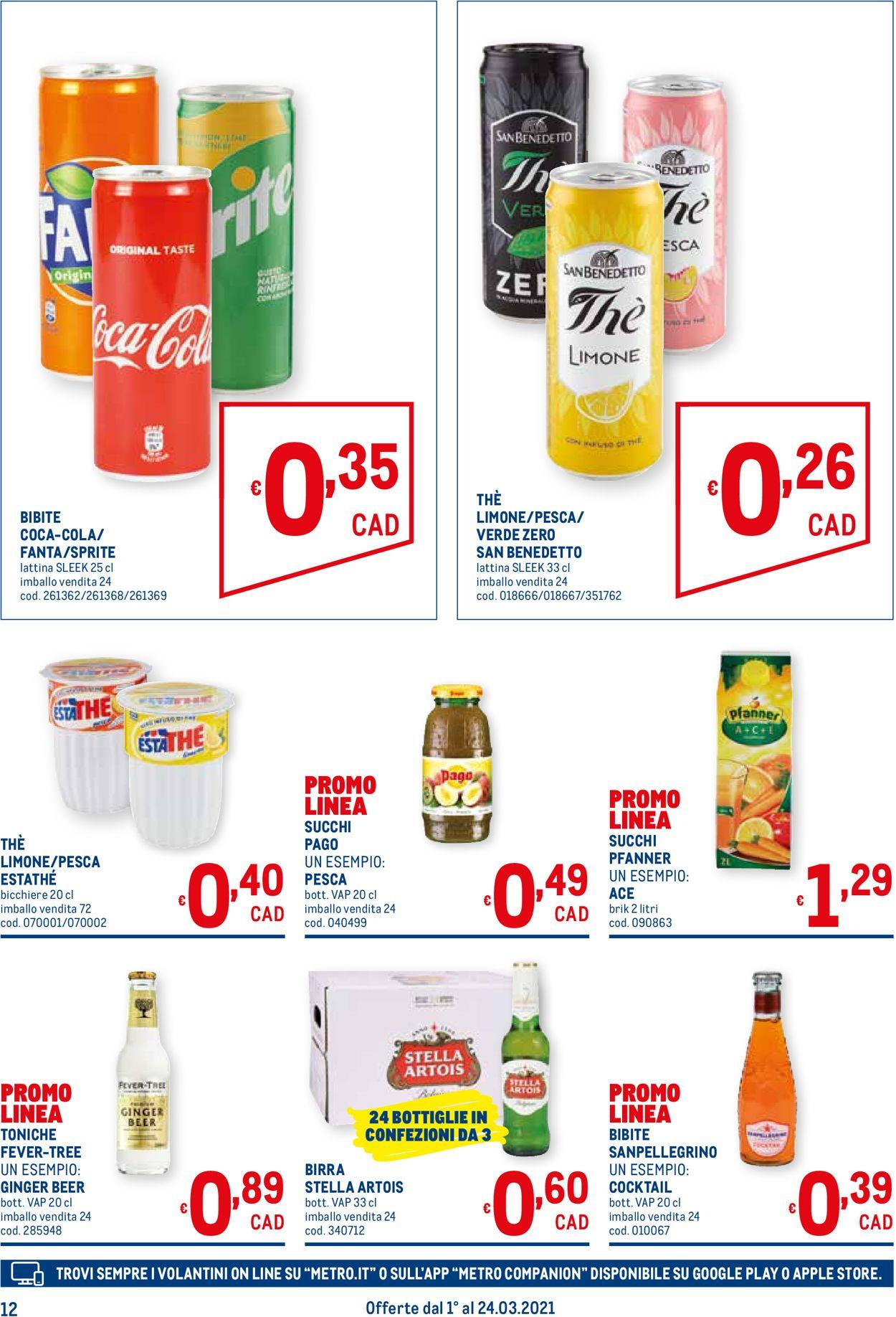 Volantino Metro - Offerte 01/03-24/03/2021 (Pagina 12)