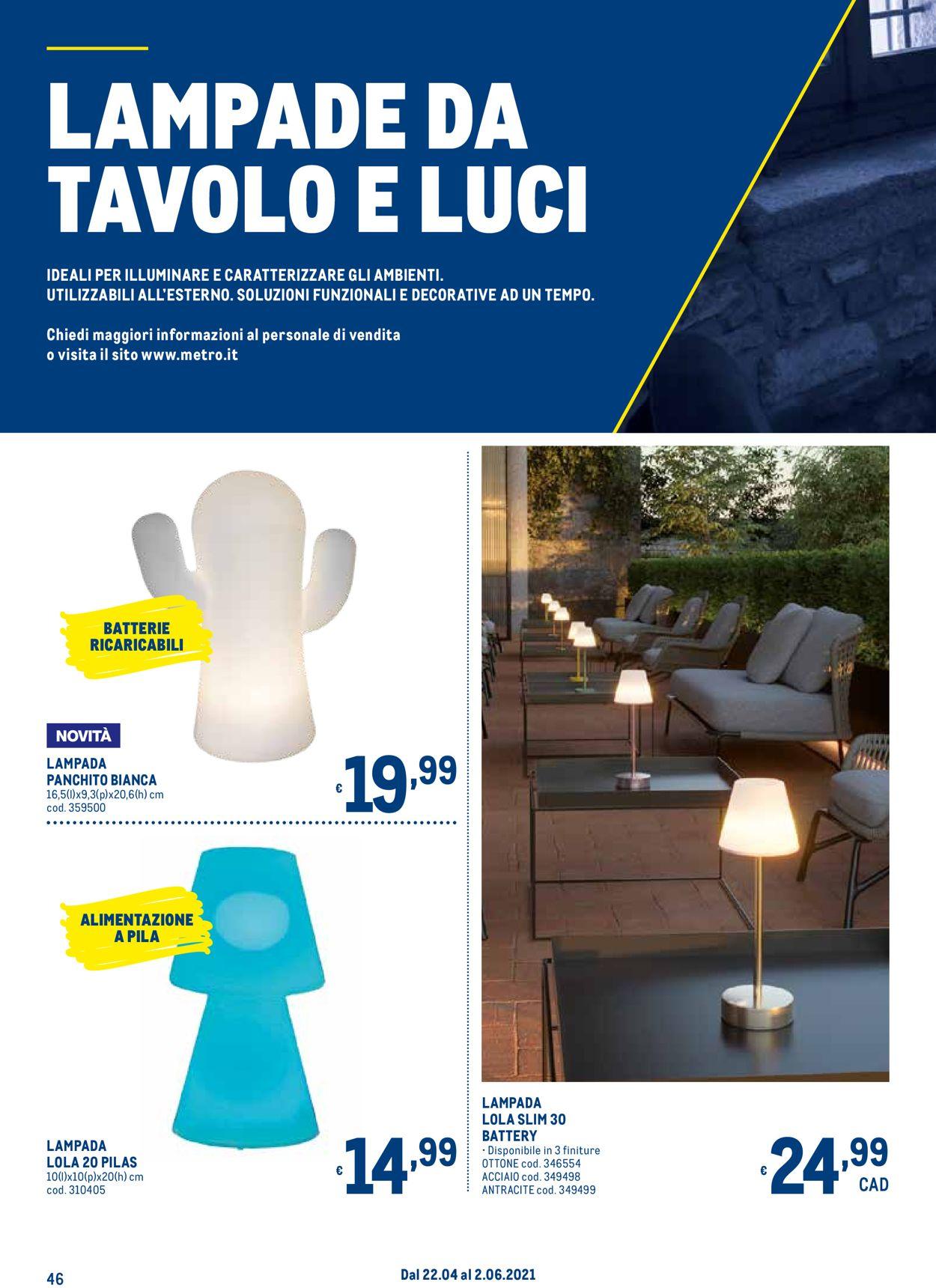 Volantino Metro - Offerte 22/04-02/06/2021 (Pagina 46)