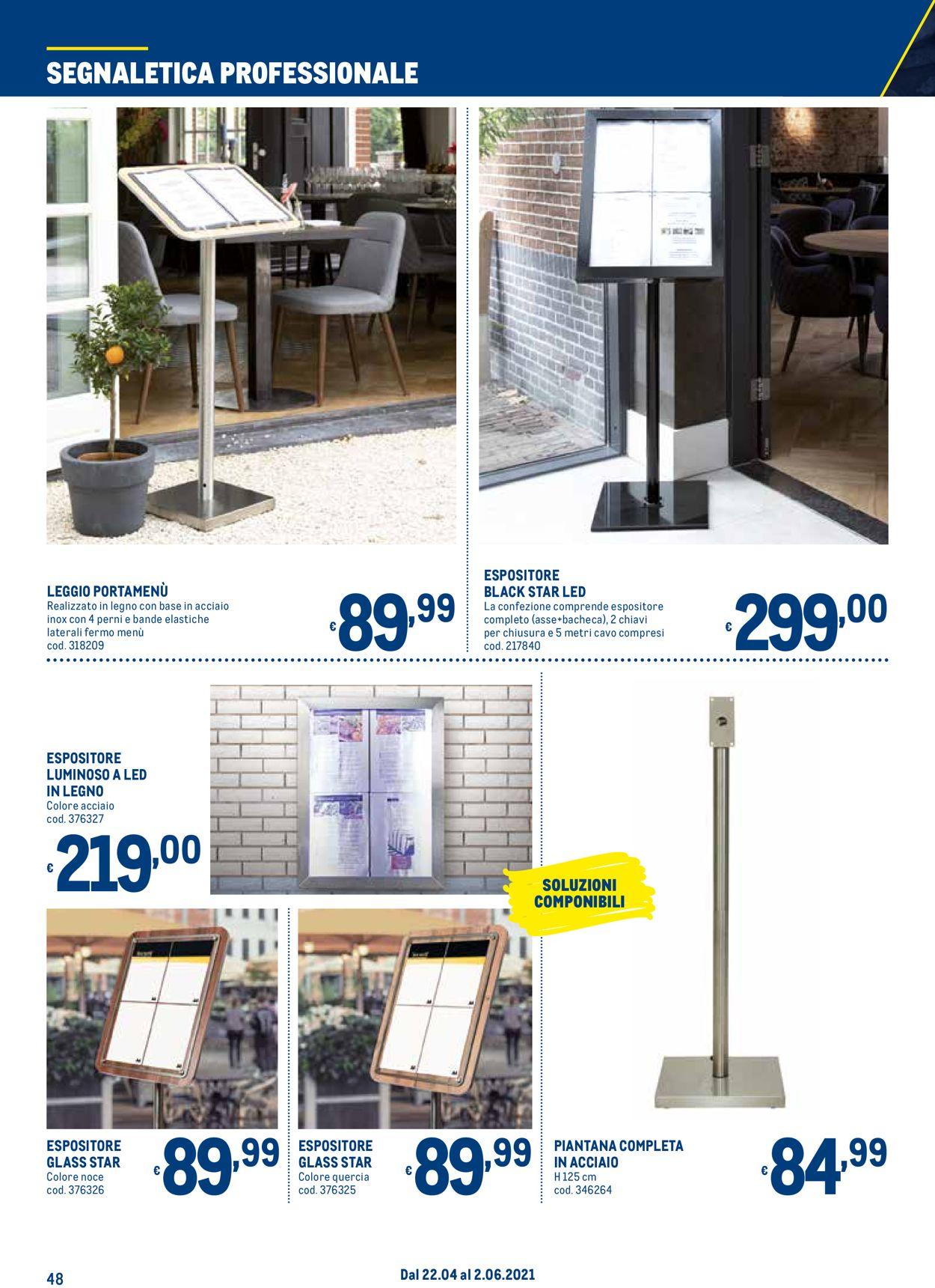 Volantino Metro - Offerte 22/04-02/06/2021 (Pagina 48)