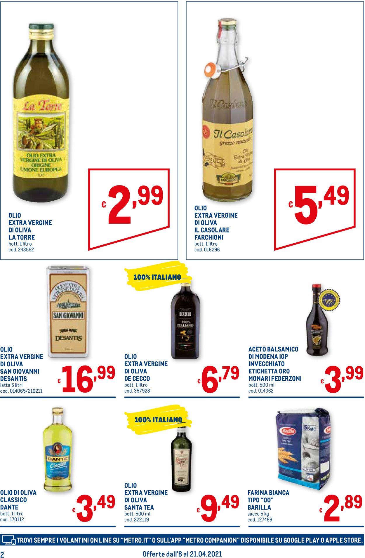 Volantino Metro - Offerte 08/04-21/04/2021 (Pagina 2)
