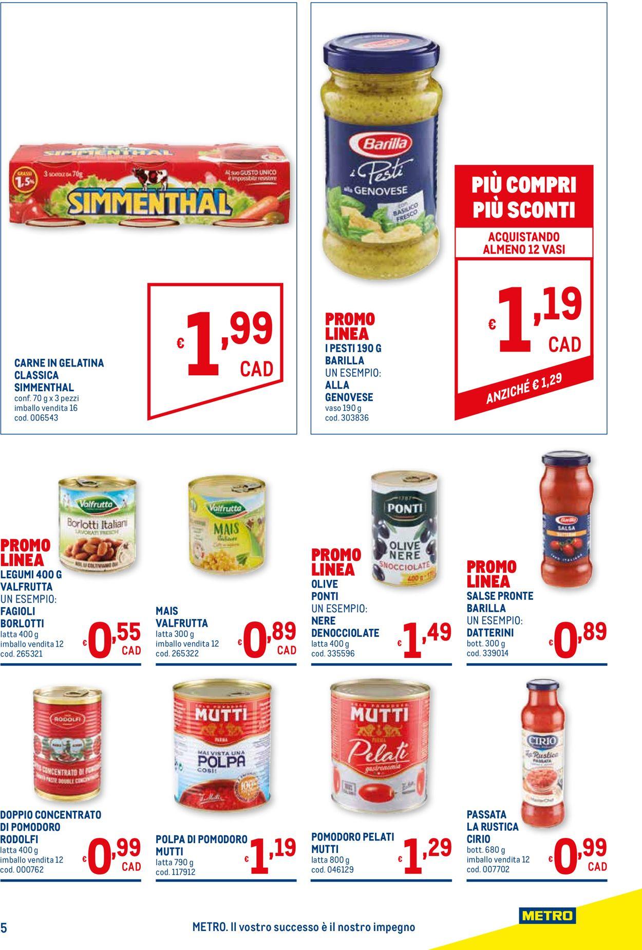 Volantino Metro - Offerte 08/04-21/04/2021 (Pagina 5)