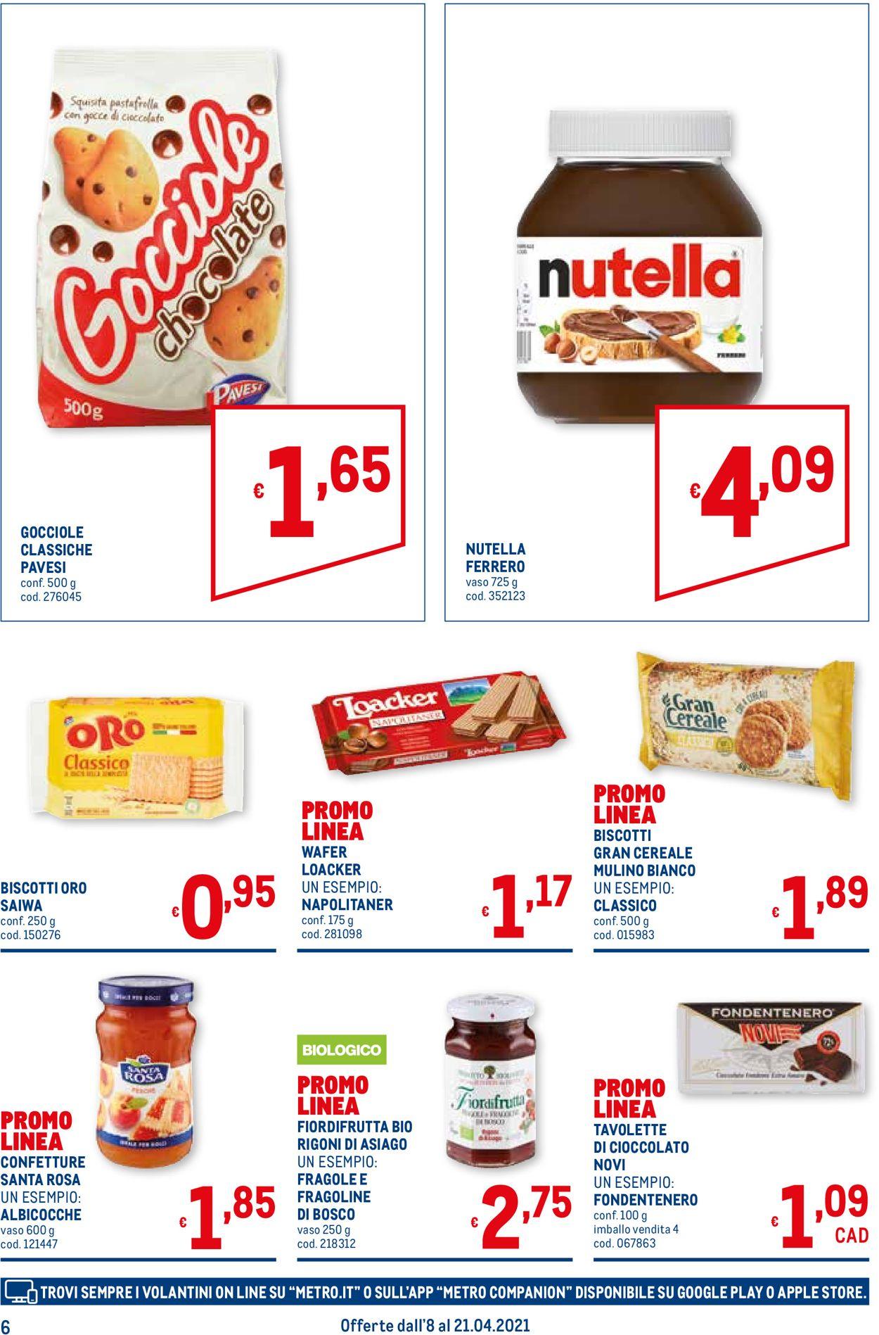 Volantino Metro - Offerte 08/04-21/04/2021 (Pagina 6)