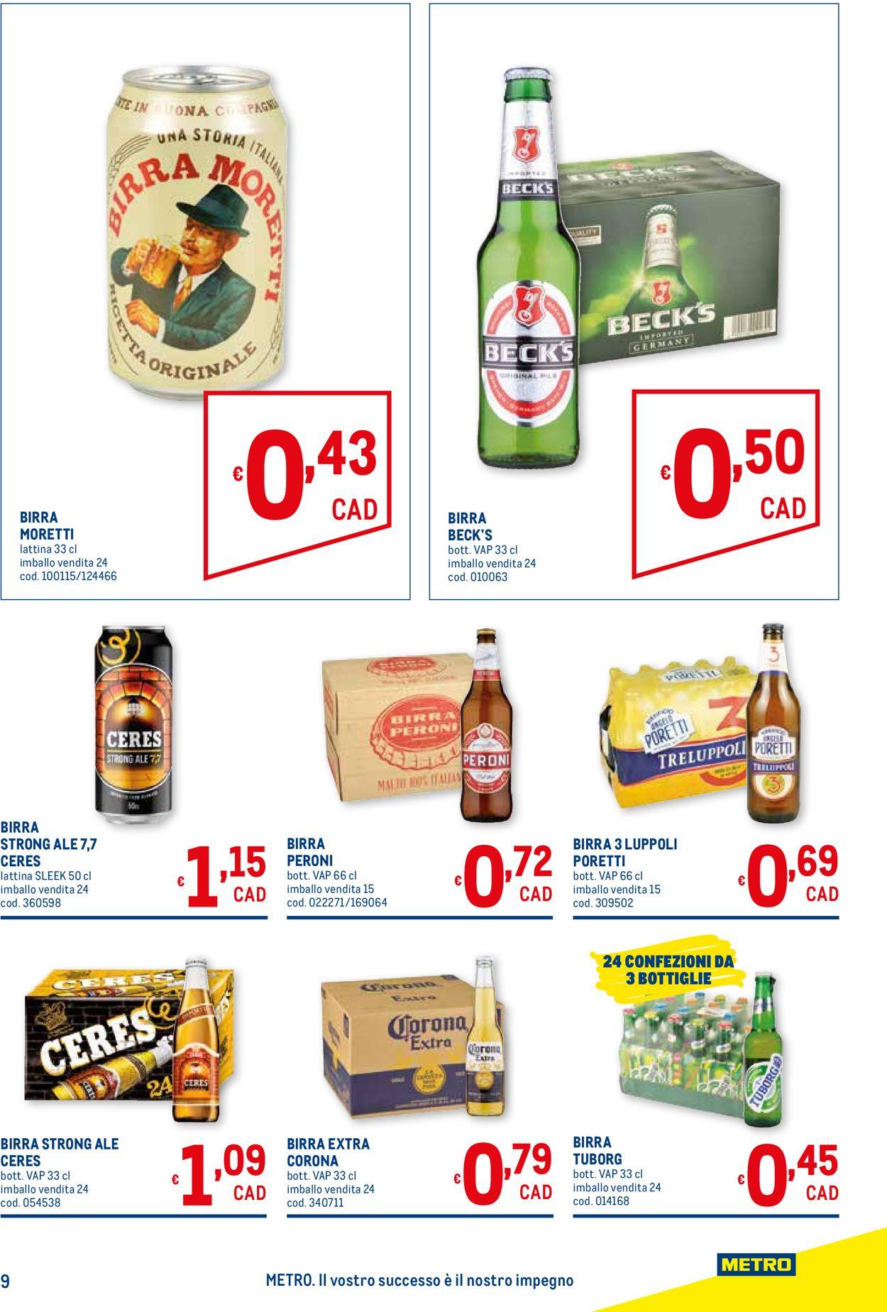 Volantino Metro - Offerte 08/04-21/04/2021 (Pagina 9)