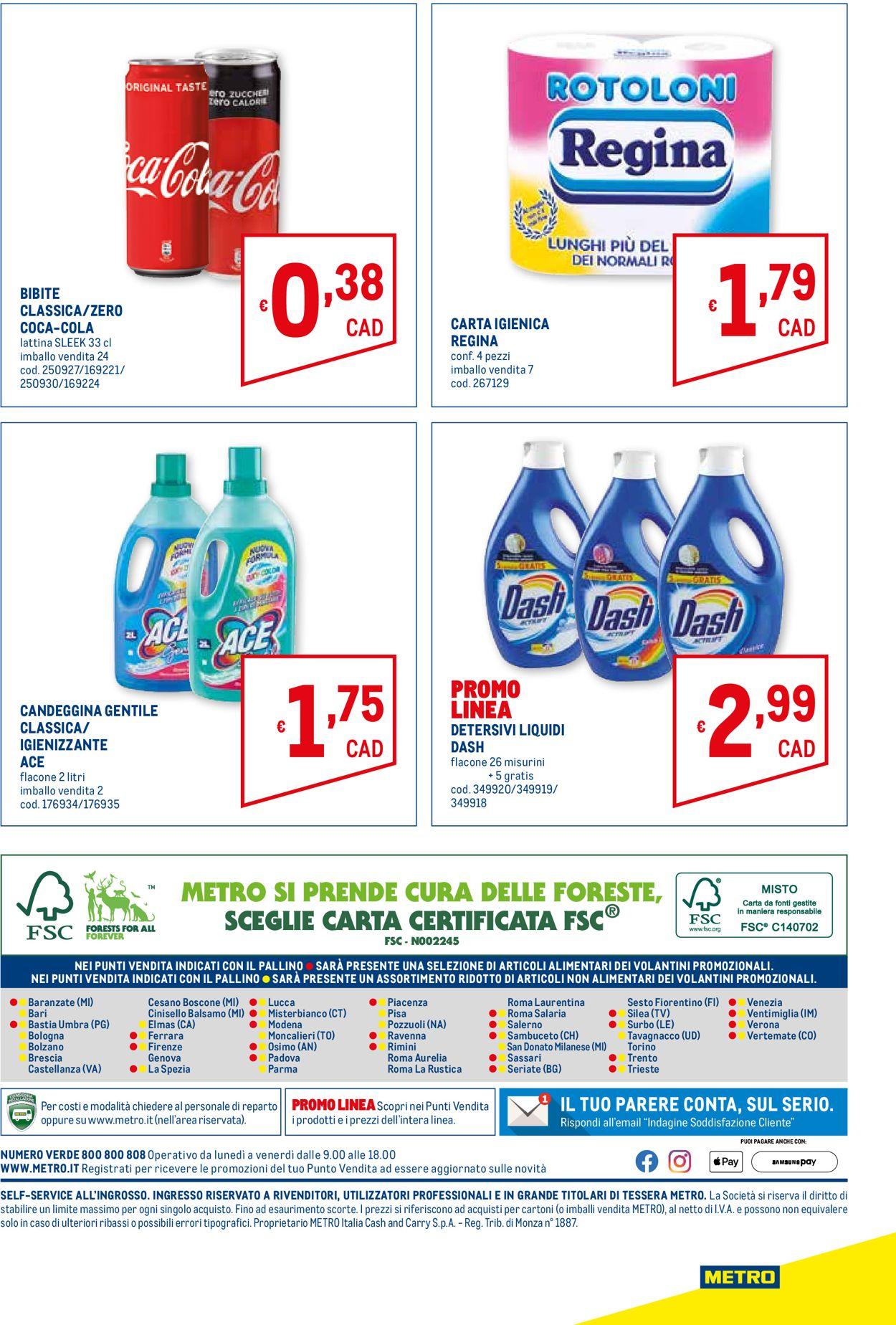 Volantino Metro - Offerte 08/04-21/04/2021 (Pagina 20)