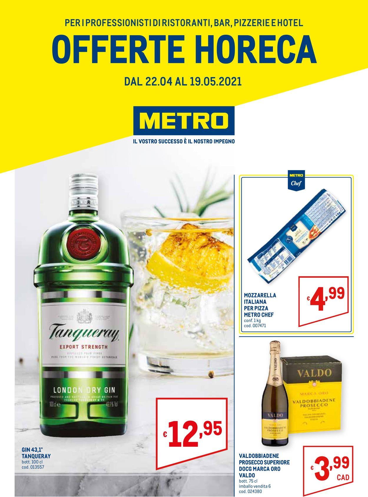 Volantino Metro - Offerte 22/04-19/05/2021