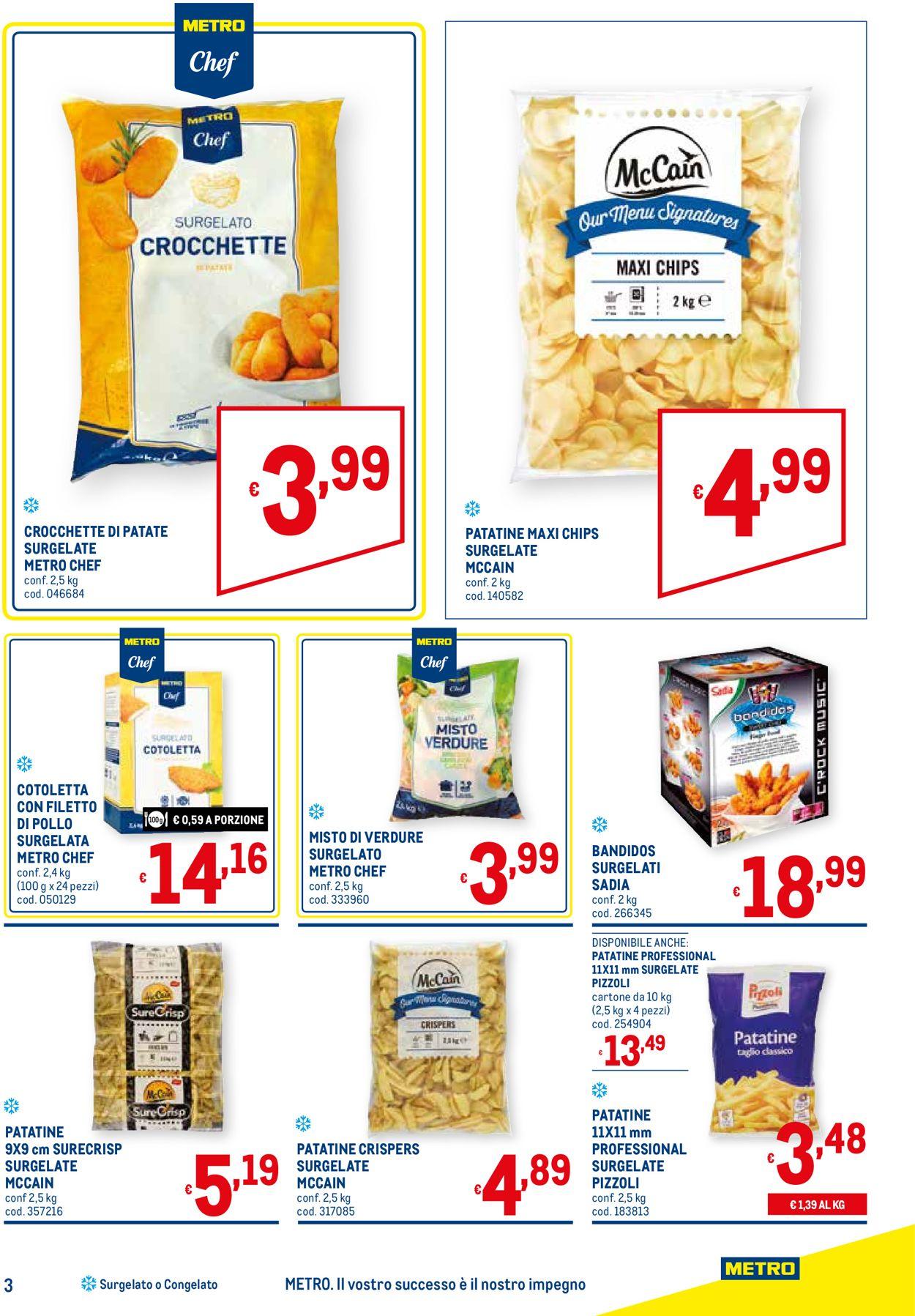 Volantino Metro - Offerte 22/04-19/05/2021 (Pagina 3)