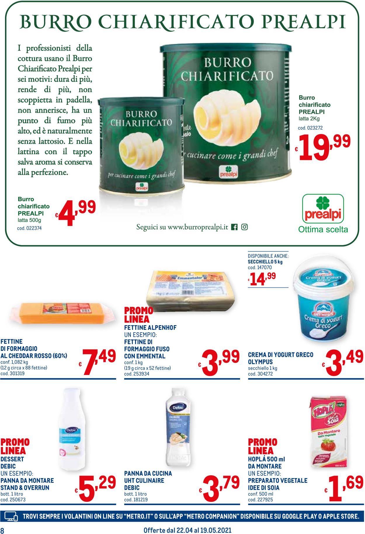 Volantino Metro - Offerte 22/04-19/05/2021 (Pagina 8)