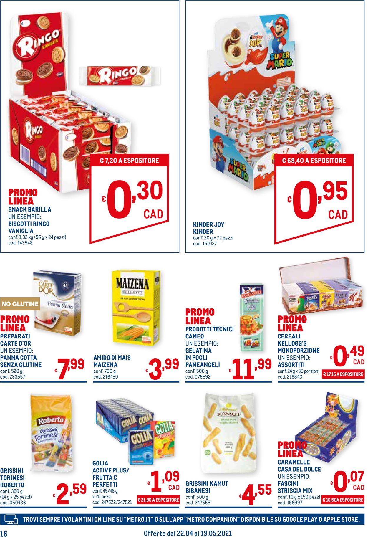 Volantino Metro - Offerte 22/04-19/05/2021 (Pagina 16)