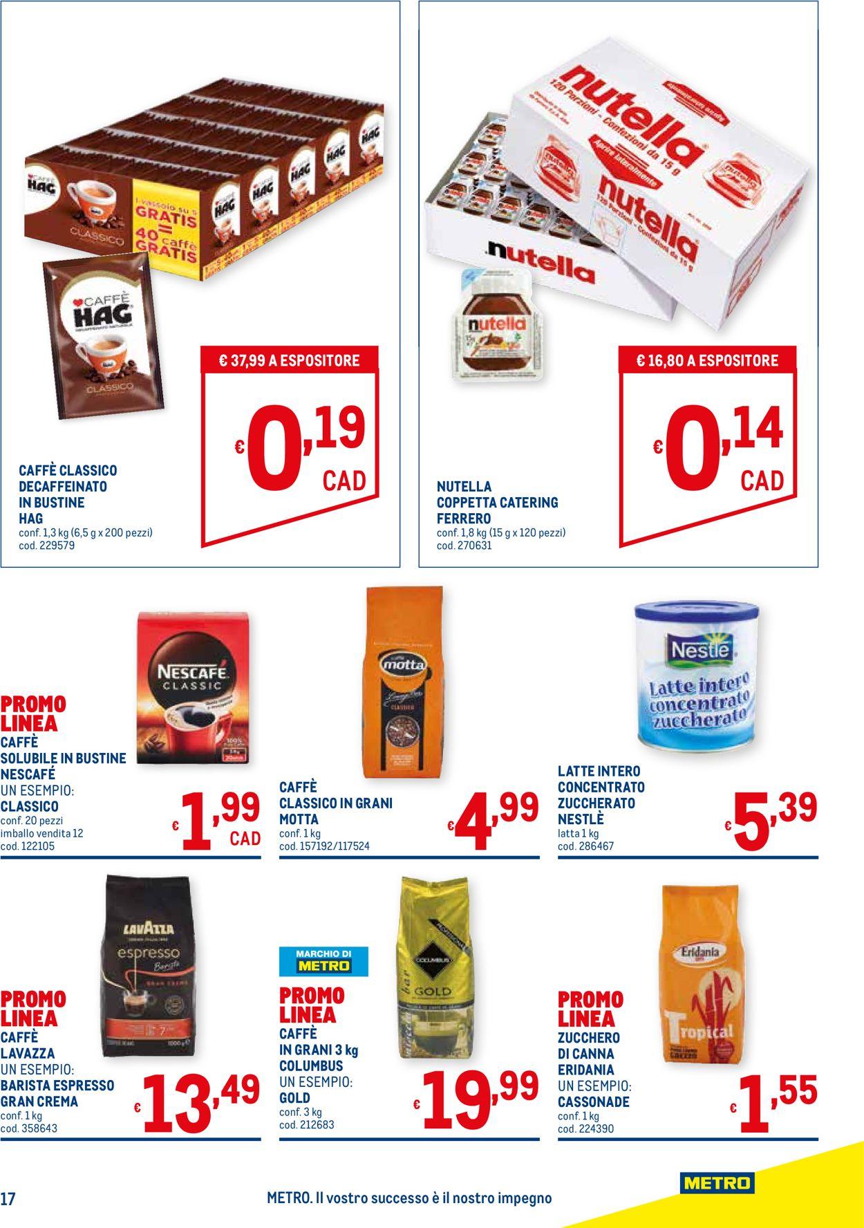 Volantino Metro - Offerte 22/04-19/05/2021 (Pagina 17)