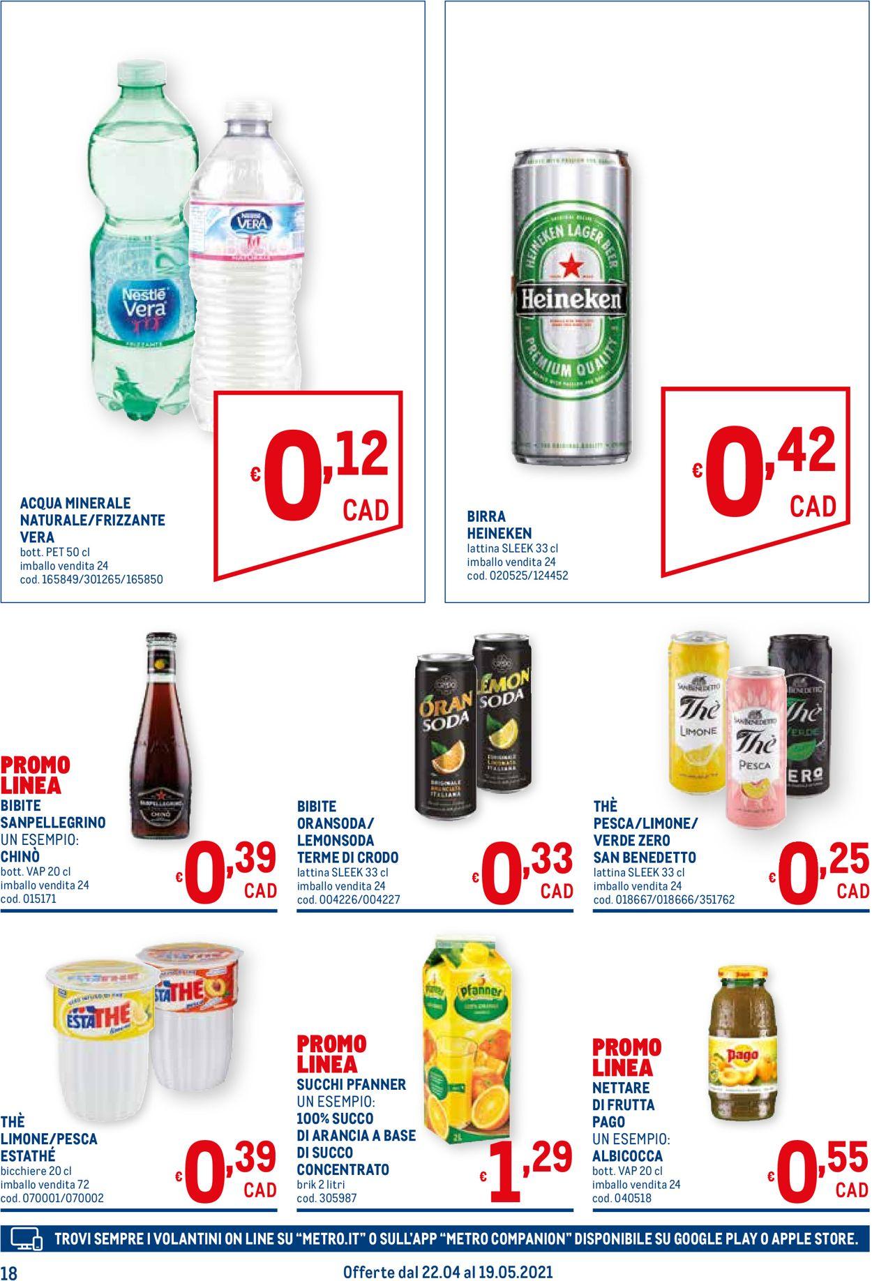 Volantino Metro - Offerte 22/04-19/05/2021 (Pagina 18)