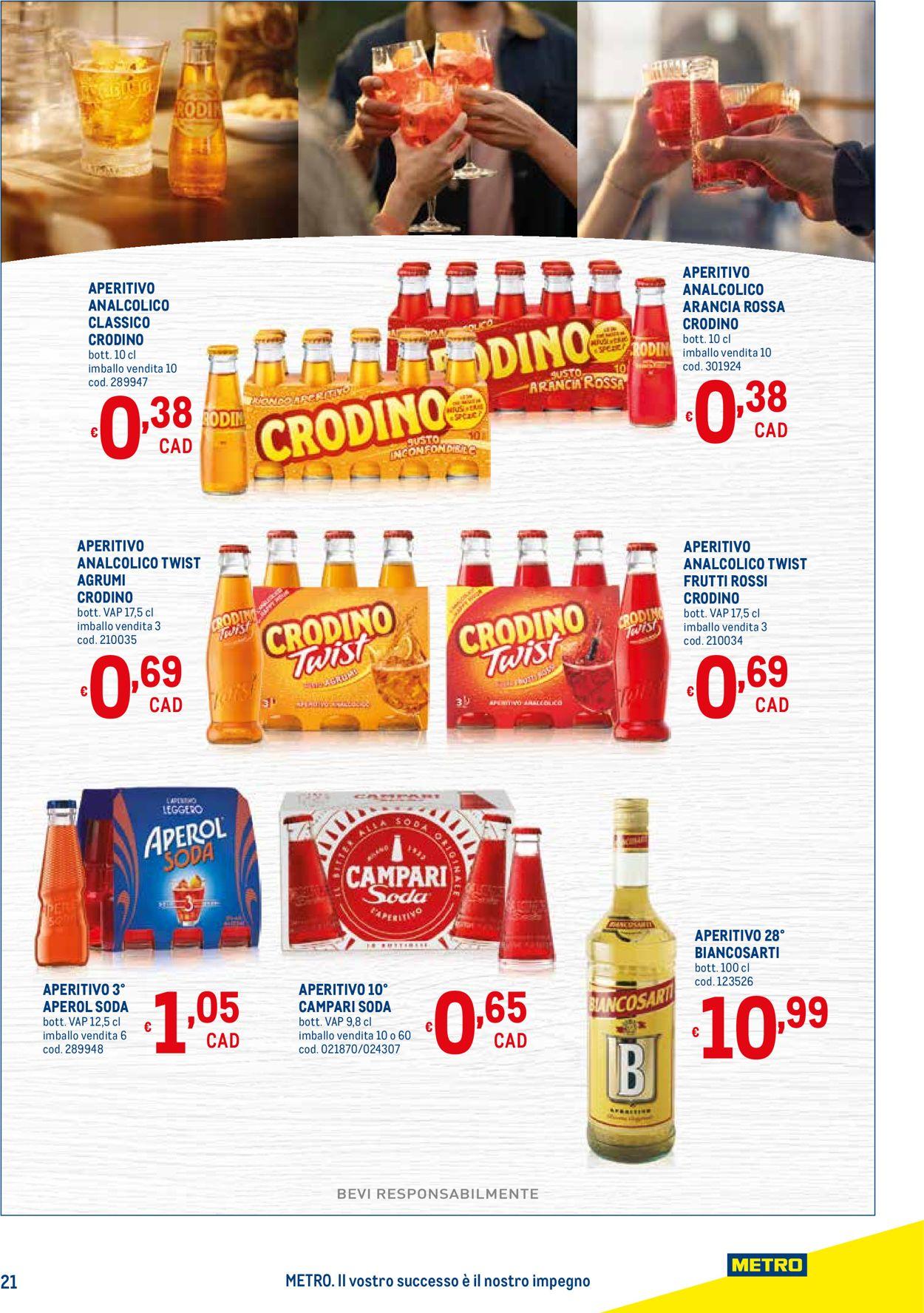 Volantino Metro - Offerte 22/04-19/05/2021 (Pagina 21)