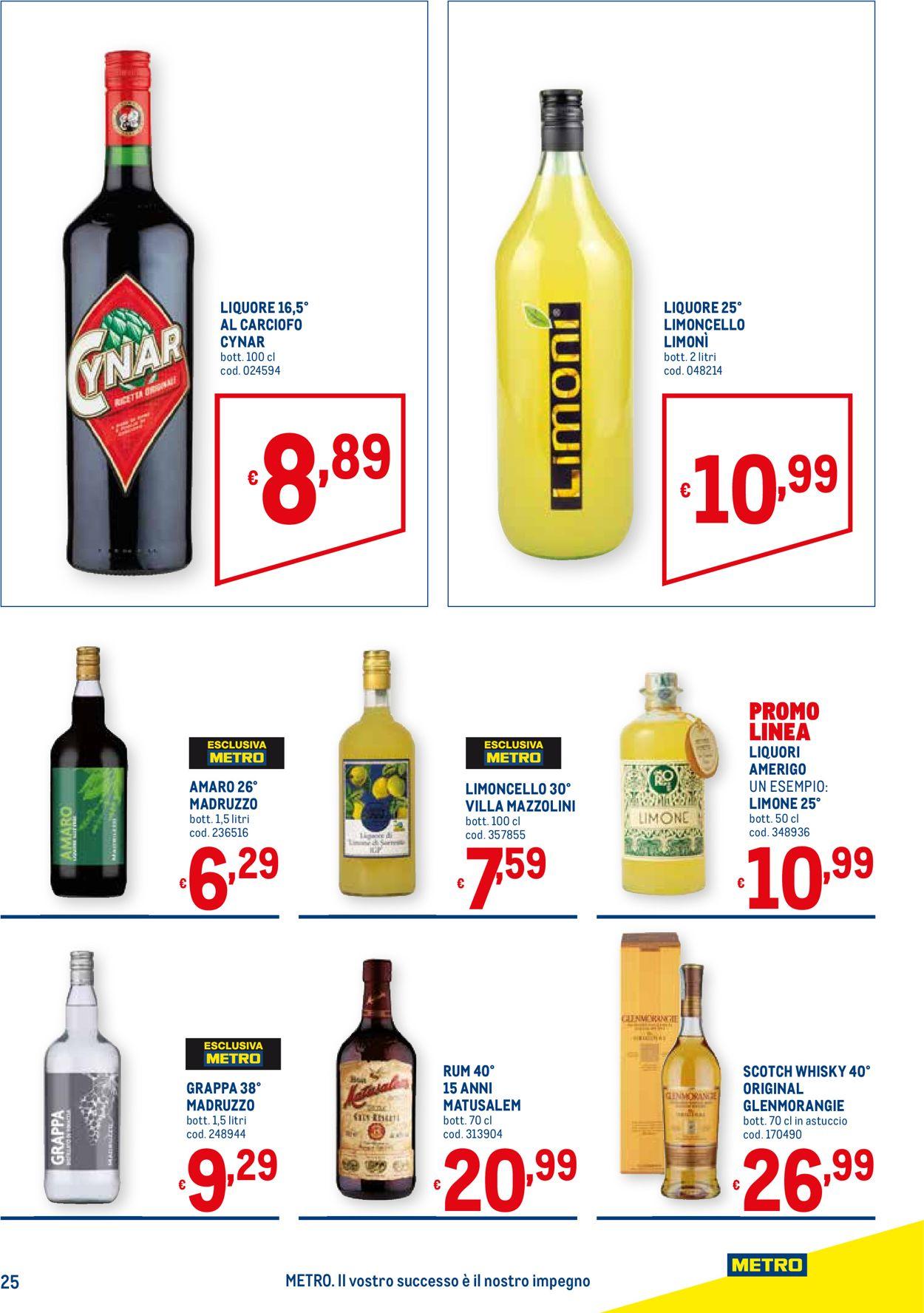 Volantino Metro - Offerte 22/04-19/05/2021 (Pagina 25)