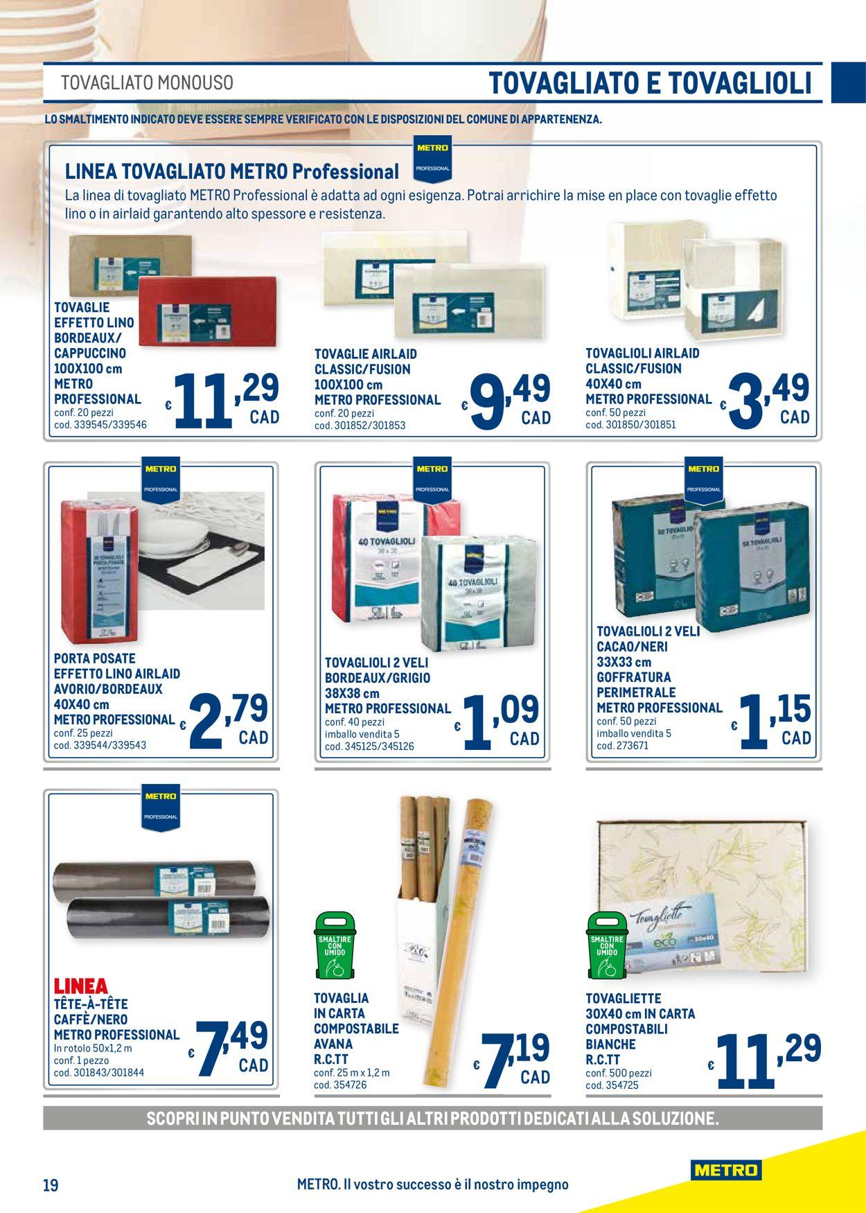 Volantino Metro - Offerte 22/04-19/05/2021 (Pagina 64)