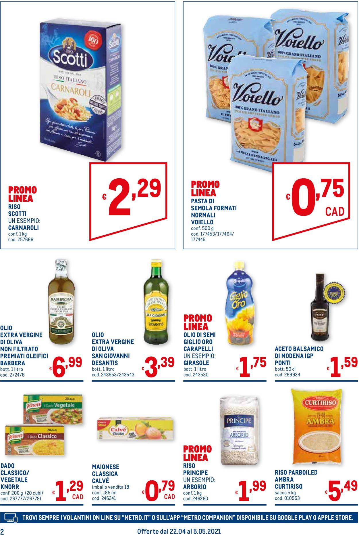 Volantino Metro - Offerte 22/04-05/05/2021 (Pagina 2)