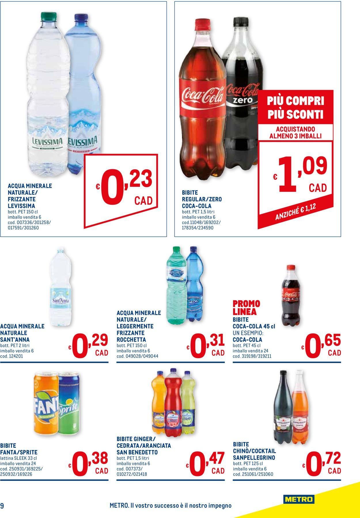 Volantino Metro - Offerte 22/04-05/05/2021 (Pagina 9)