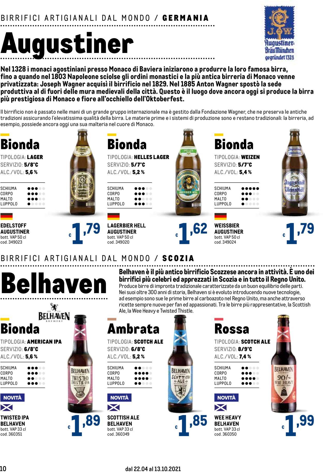 Volantino Metro - Offerte 22/04-13/10/2021 (Pagina 10)