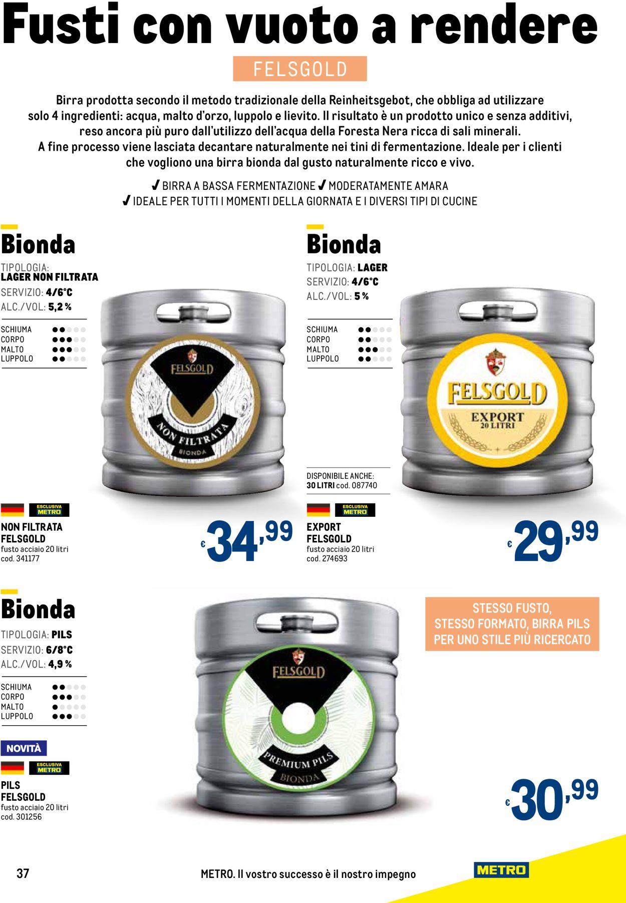 Volantino Metro - Offerte 22/04-13/10/2021 (Pagina 37)