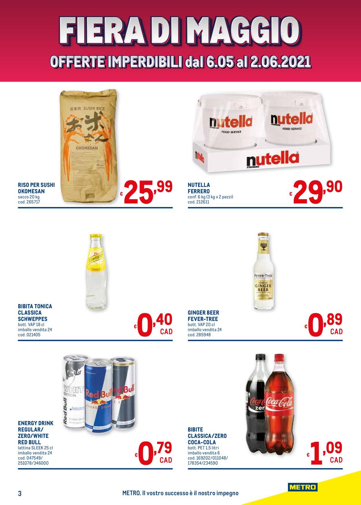Volantino Metro - Offerte 06/05-19/05/2021 (Pagina 3)