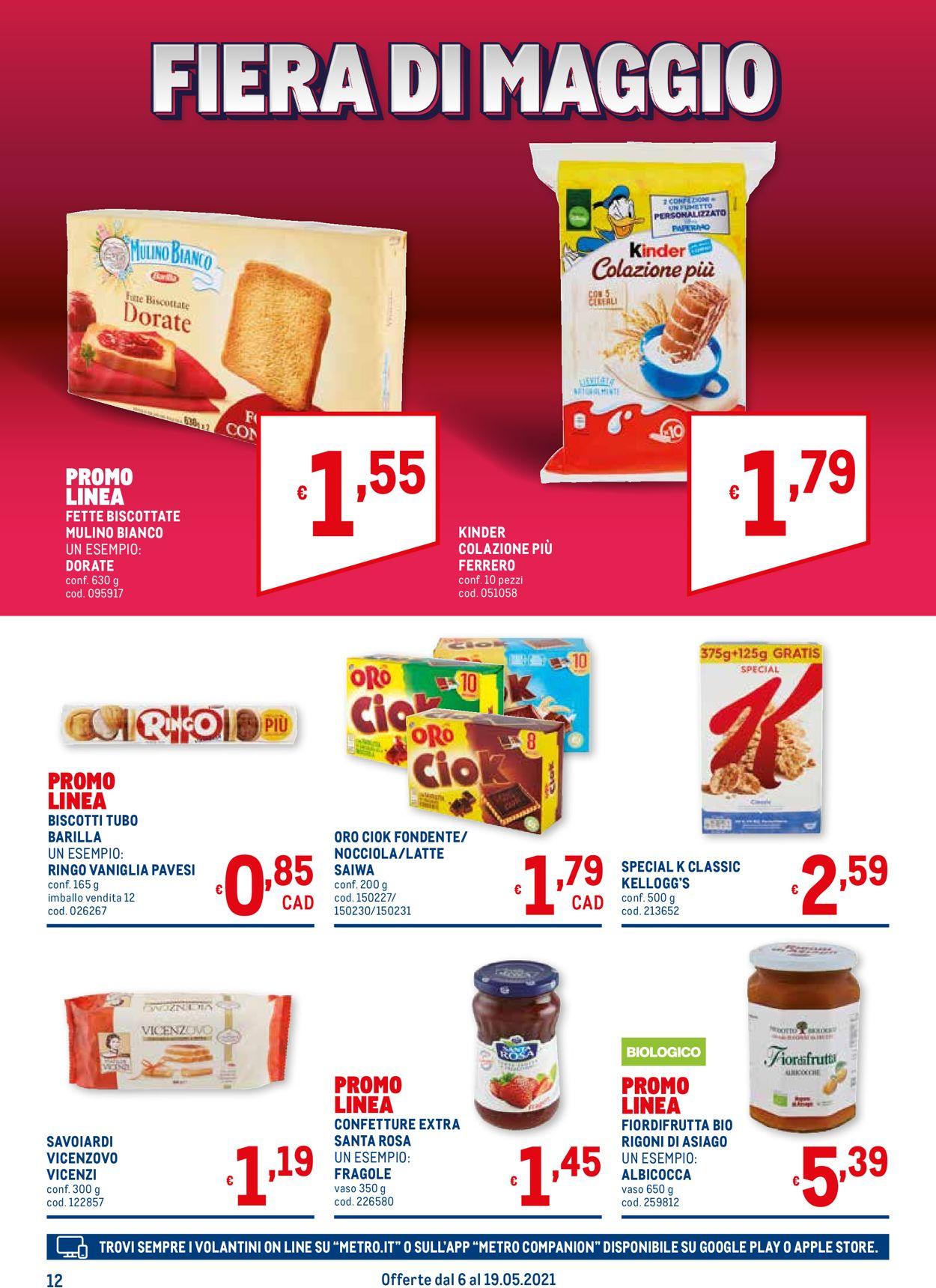Volantino Metro - Offerte 06/05-19/05/2021 (Pagina 12)