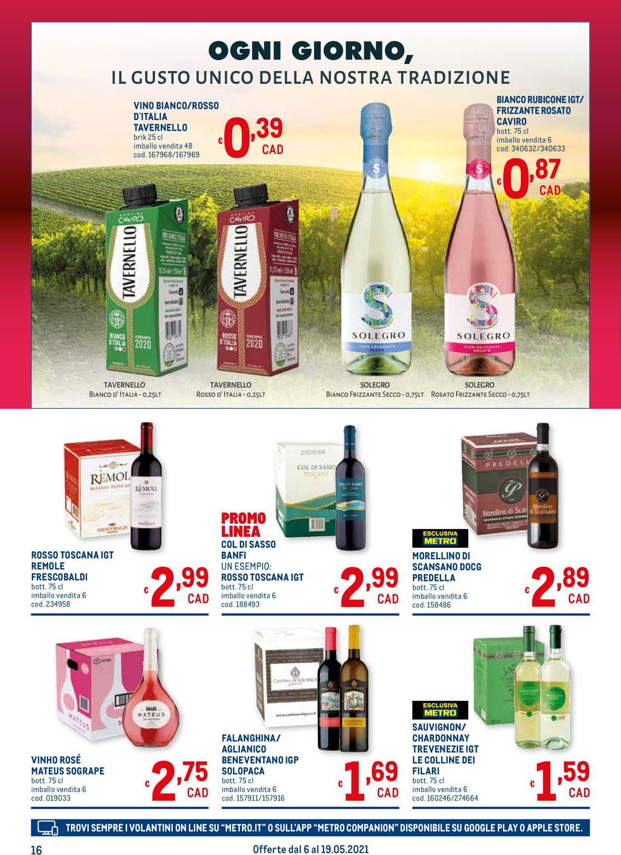 Volantino Metro - Offerte 06/05-19/05/2021 (Pagina 16)