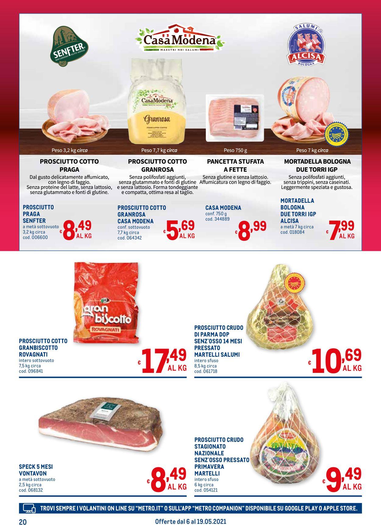 Volantino Metro - Offerte 06/05-19/05/2021 (Pagina 20)