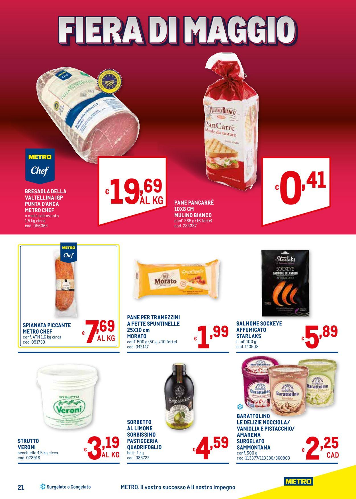 Volantino Metro - Offerte 06/05-19/05/2021 (Pagina 21)
