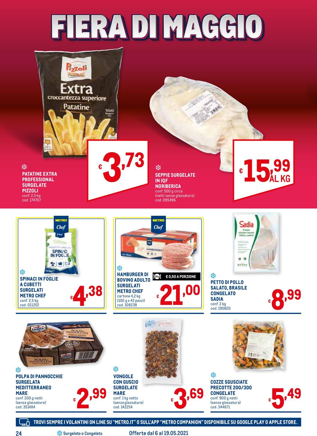 Volantino Metro - Offerte 06/05-19/05/2021 (Pagina 24)