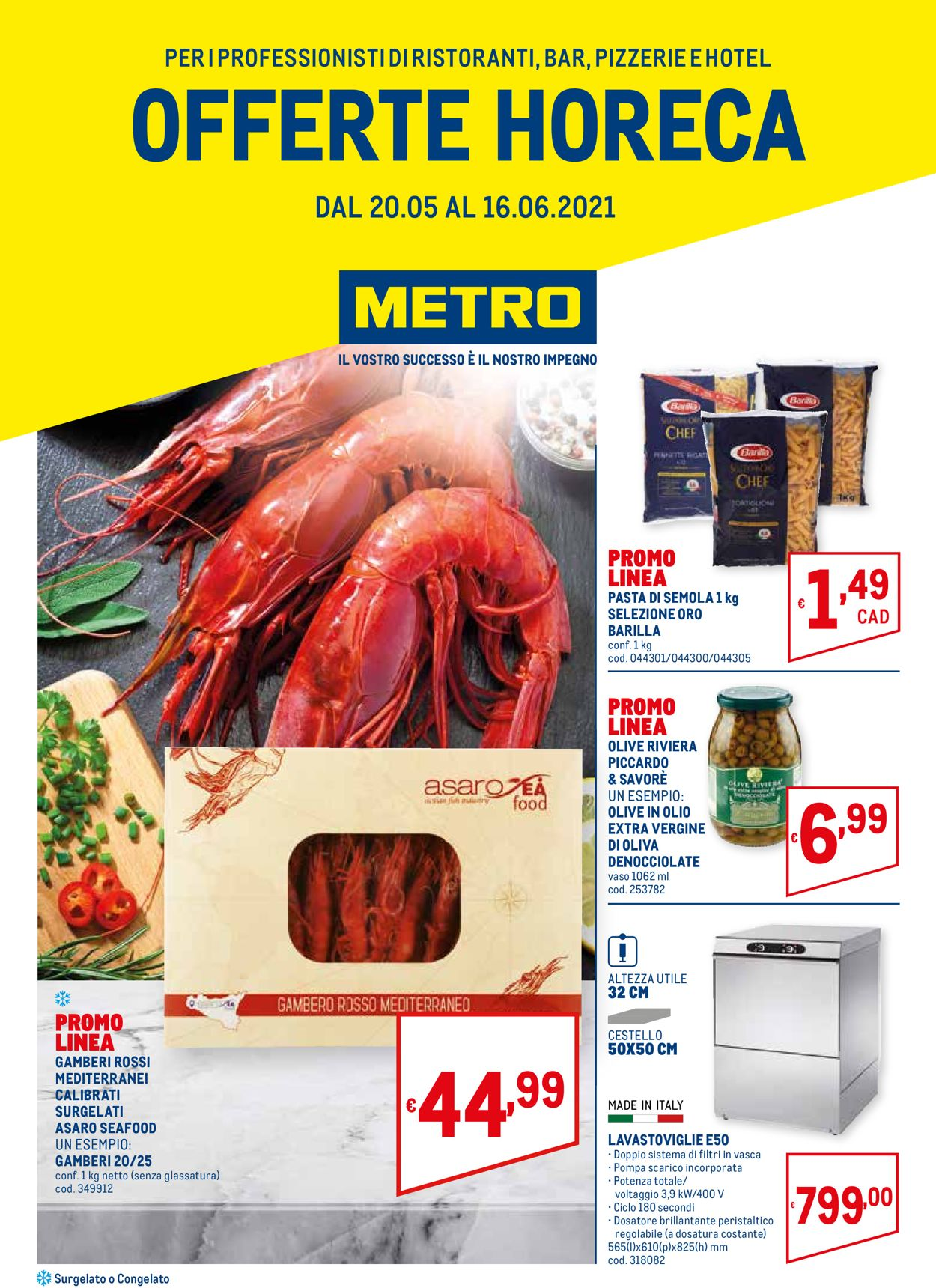 Volantino Metro - Offerte 20/05-16/06/2021