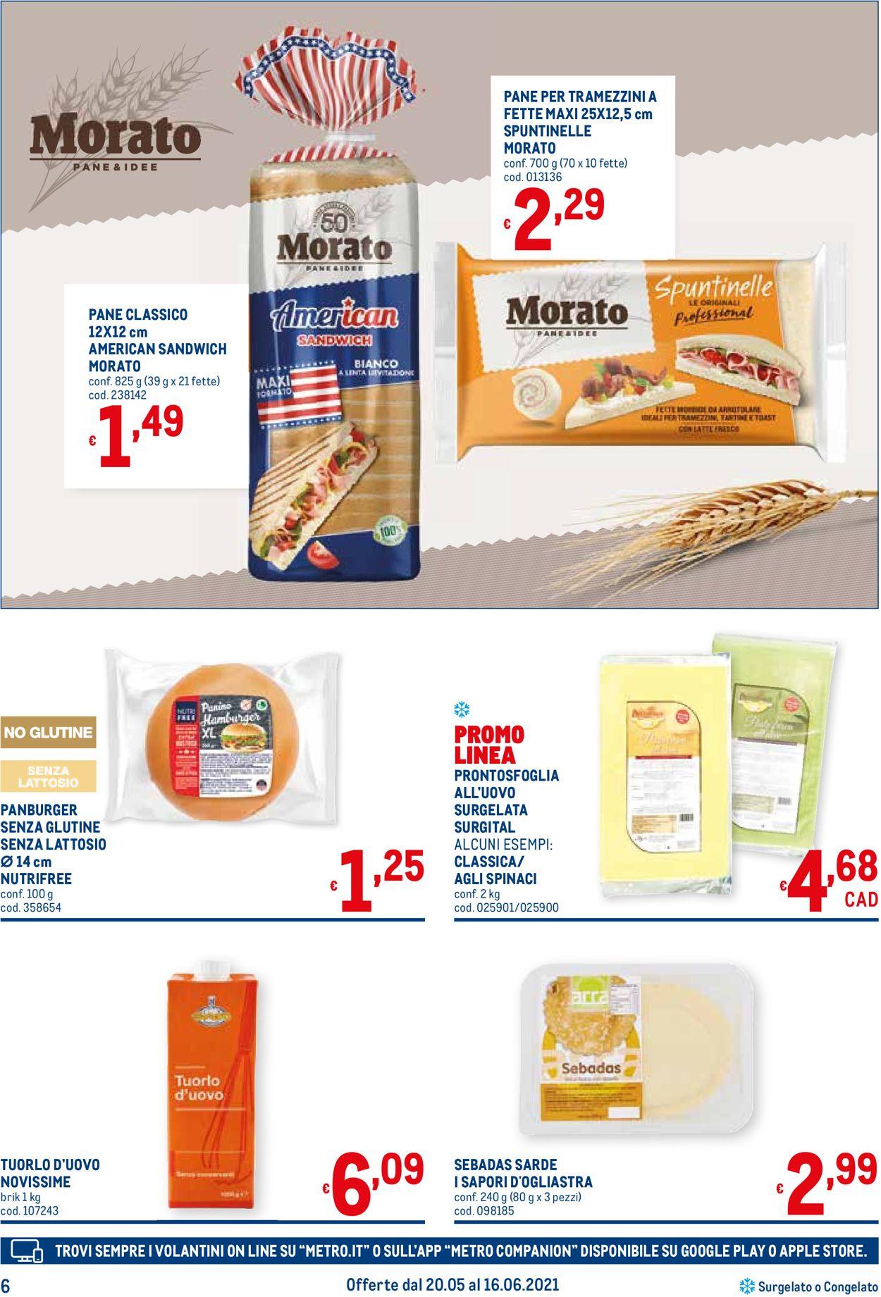 Volantino Metro - Offerte 20/05-16/06/2021 (Pagina 6)