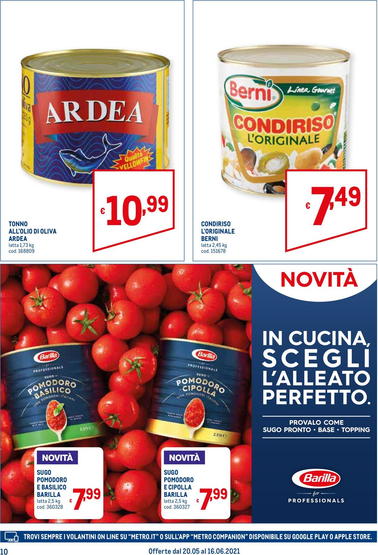 Volantino Metro - Offerte 20/05-16/06/2021 (Pagina 10)