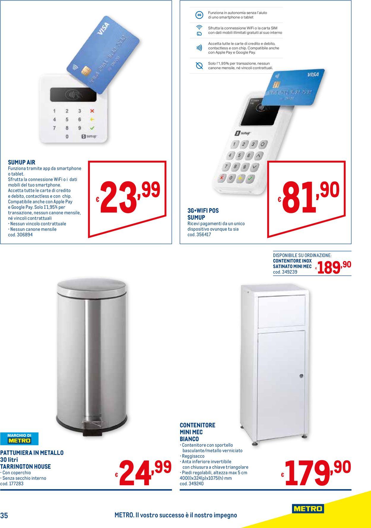 Volantino Metro - Offerte 20/05-16/06/2021 (Pagina 35)