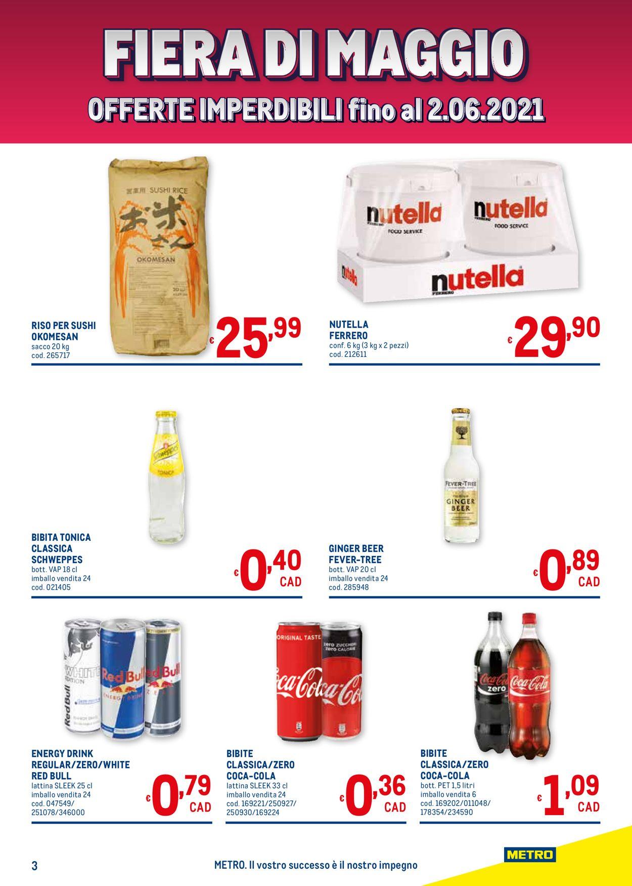 Volantino Metro - Offerte 20/05-02/06/2021 (Pagina 3)