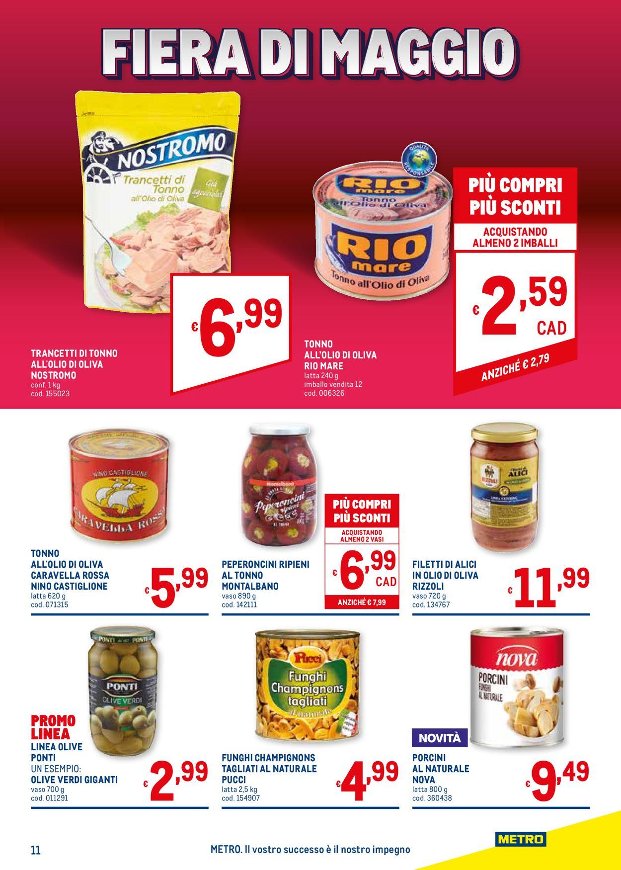 Volantino Metro - Offerte 20/05-02/06/2021 (Pagina 11)