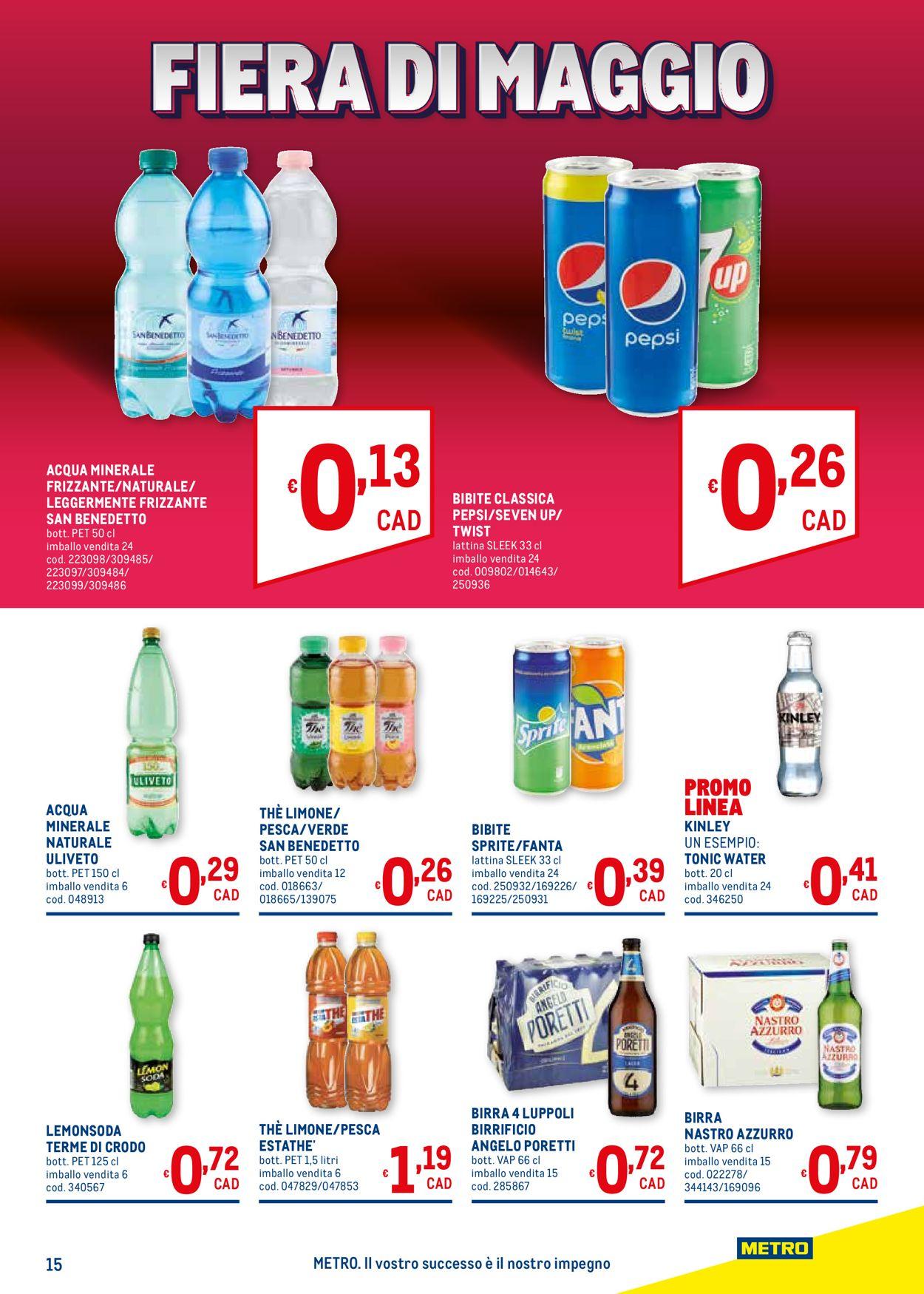 Volantino Metro - Offerte 20/05-02/06/2021 (Pagina 15)
