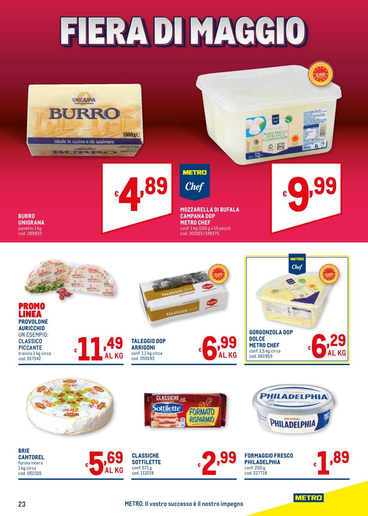 Volantino Metro - Offerte 20/05-02/06/2021 (Pagina 23)
