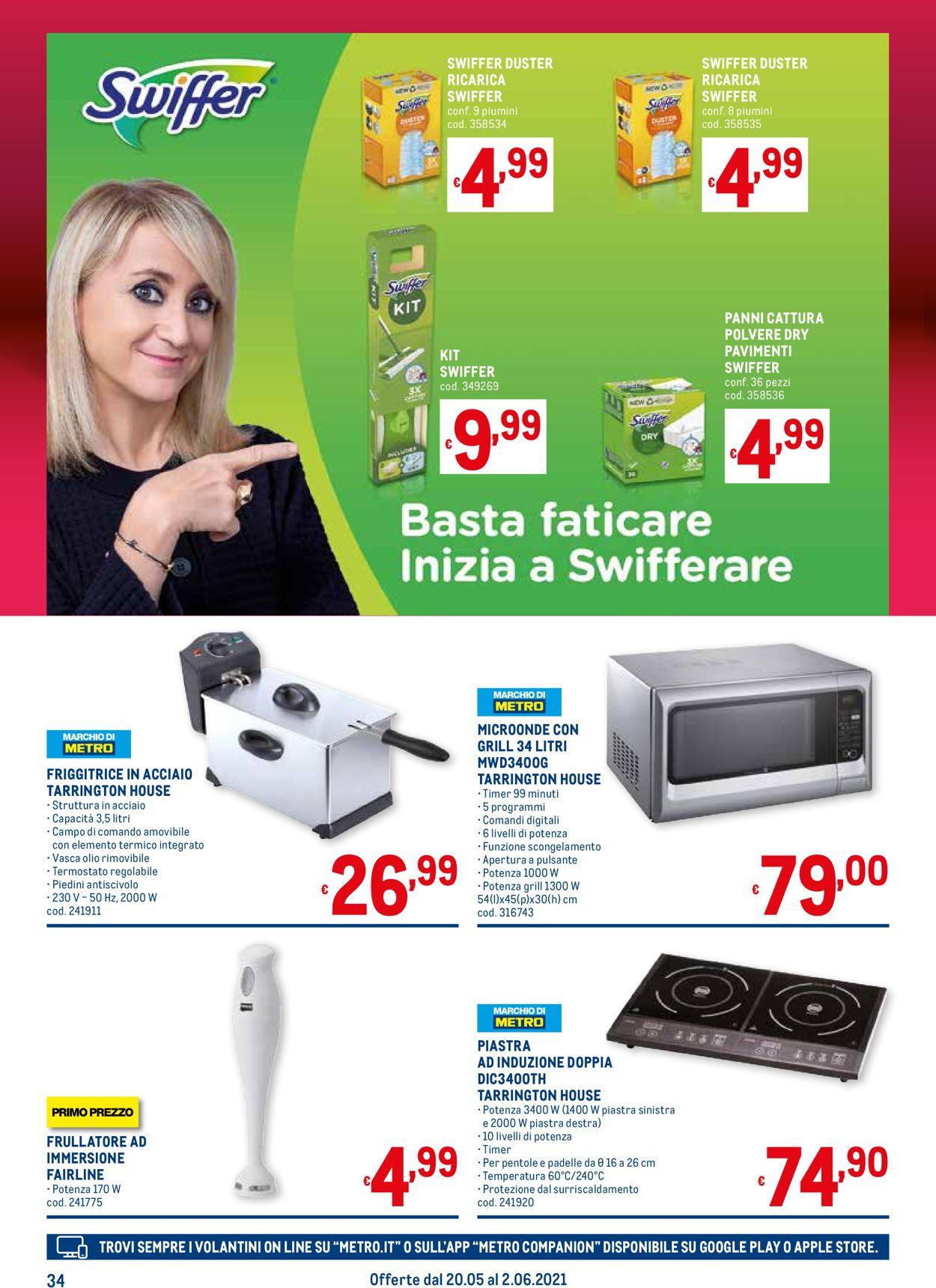 Volantino Metro - Offerte 20/05-02/06/2021 (Pagina 34)