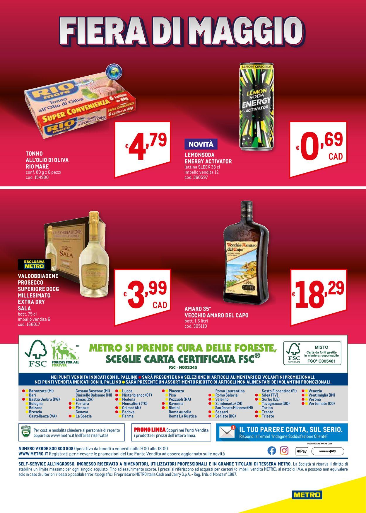 Volantino Metro - Offerte 20/05-02/06/2021 (Pagina 36)