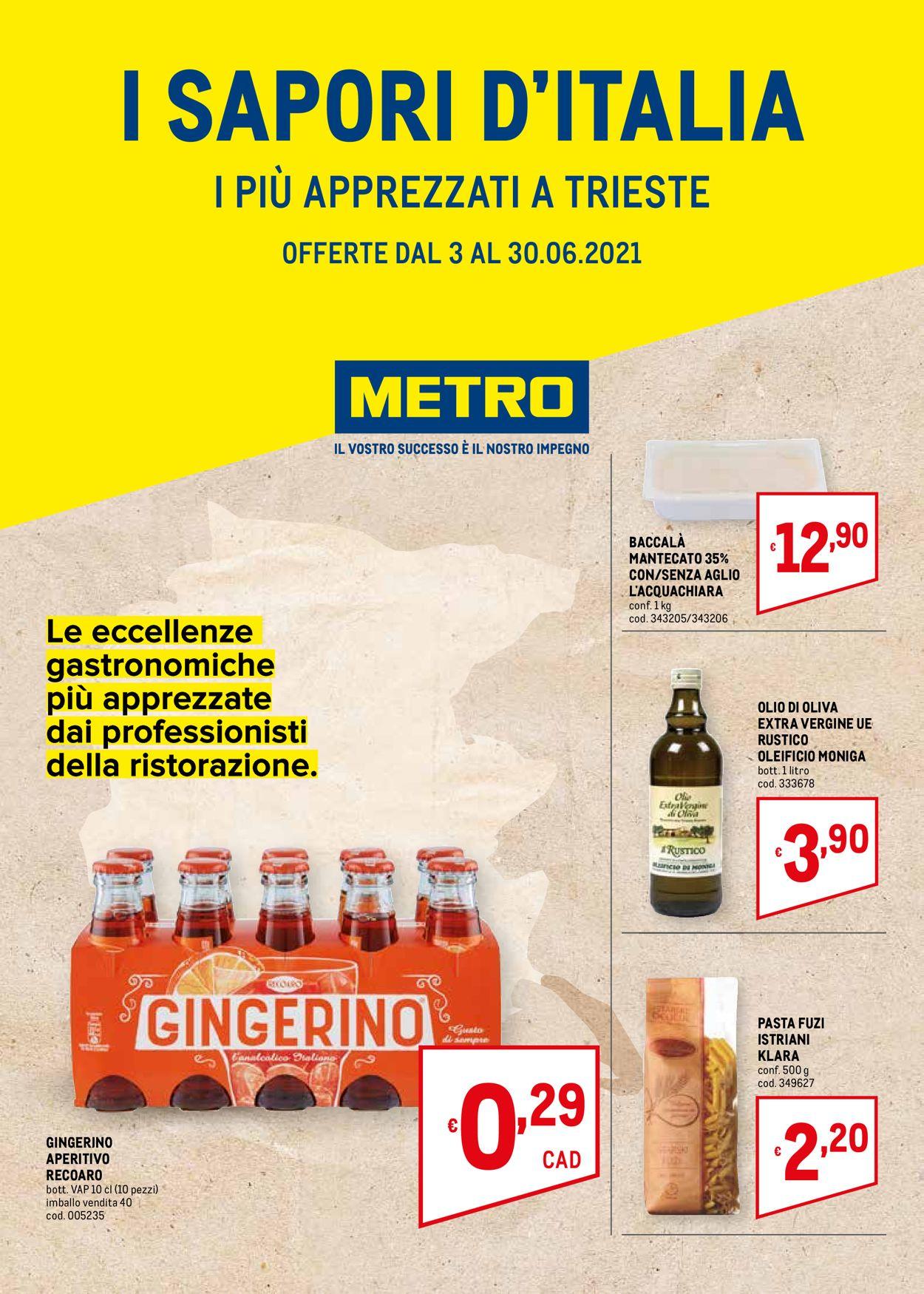 Volantino Metro - Offerte 03/06-30/06/2021