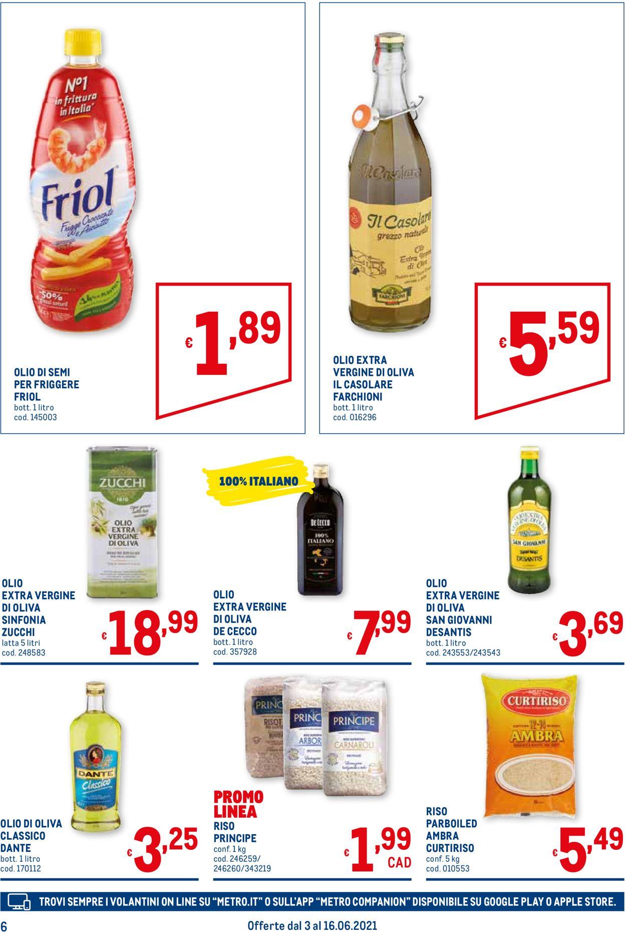 Volantino Metro - Offerte 03/06-16/06/2021 (Pagina 6)