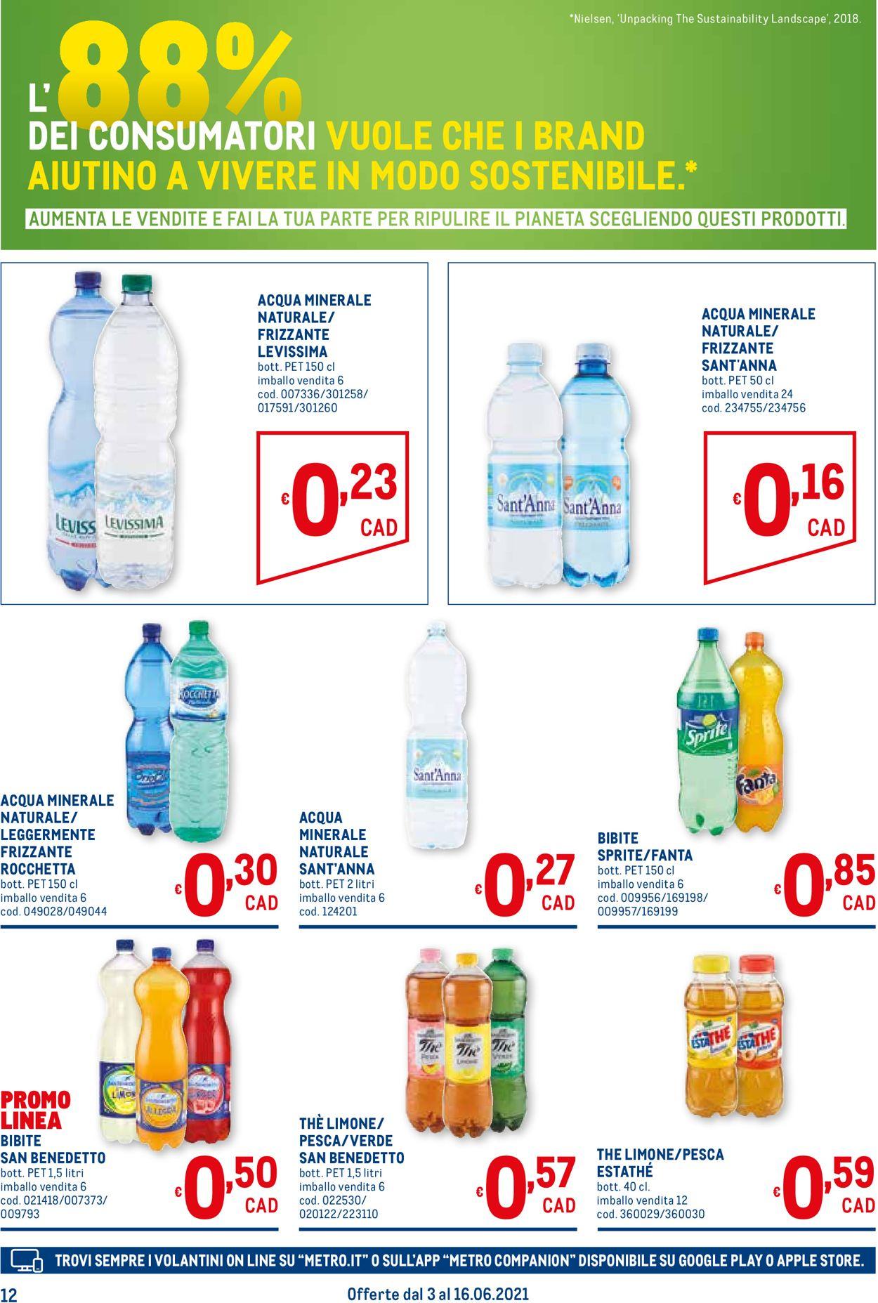 Volantino Metro - Offerte 03/06-16/06/2021 (Pagina 12)