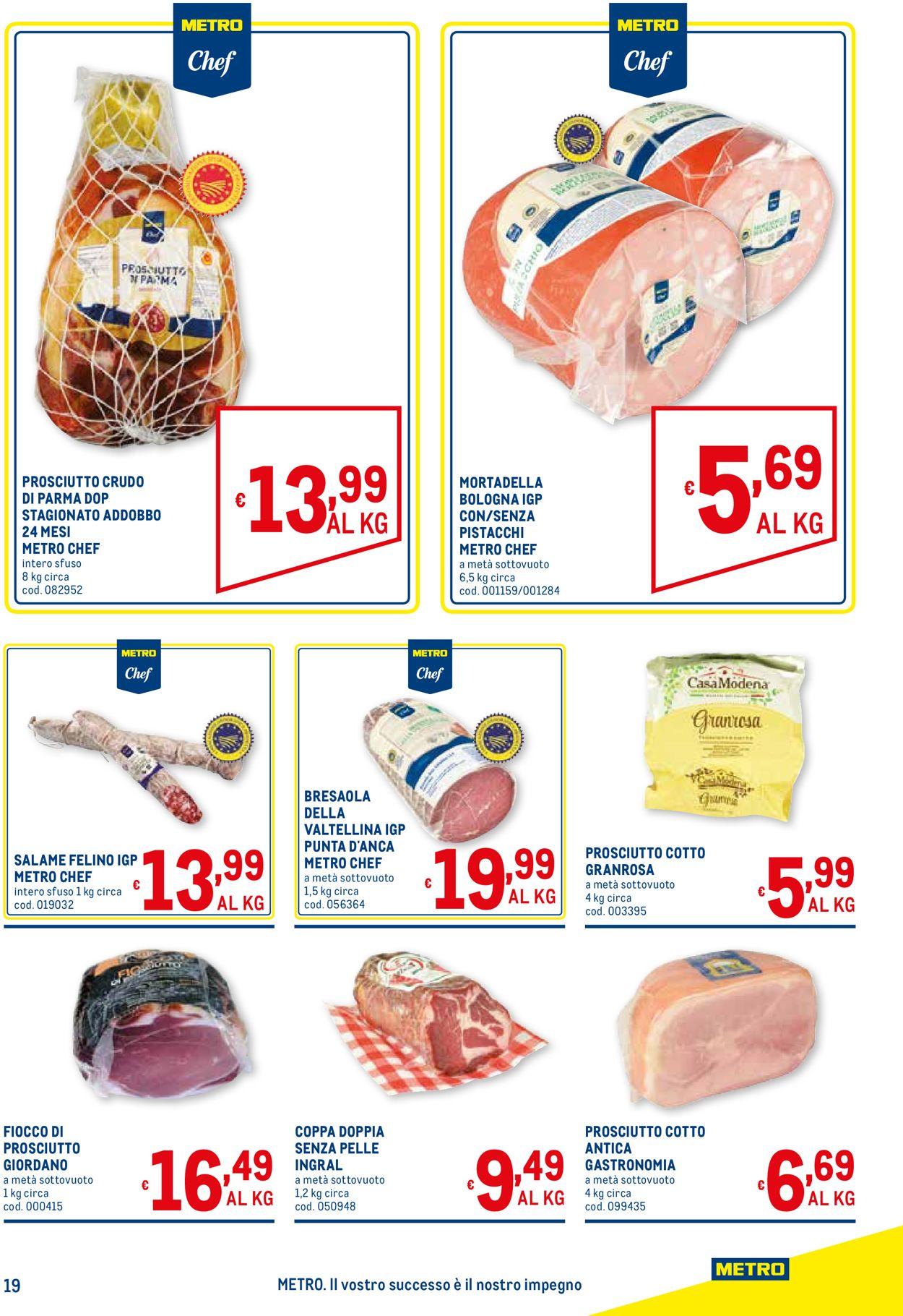 Volantino Metro - Offerte 03/06-16/06/2021 (Pagina 19)