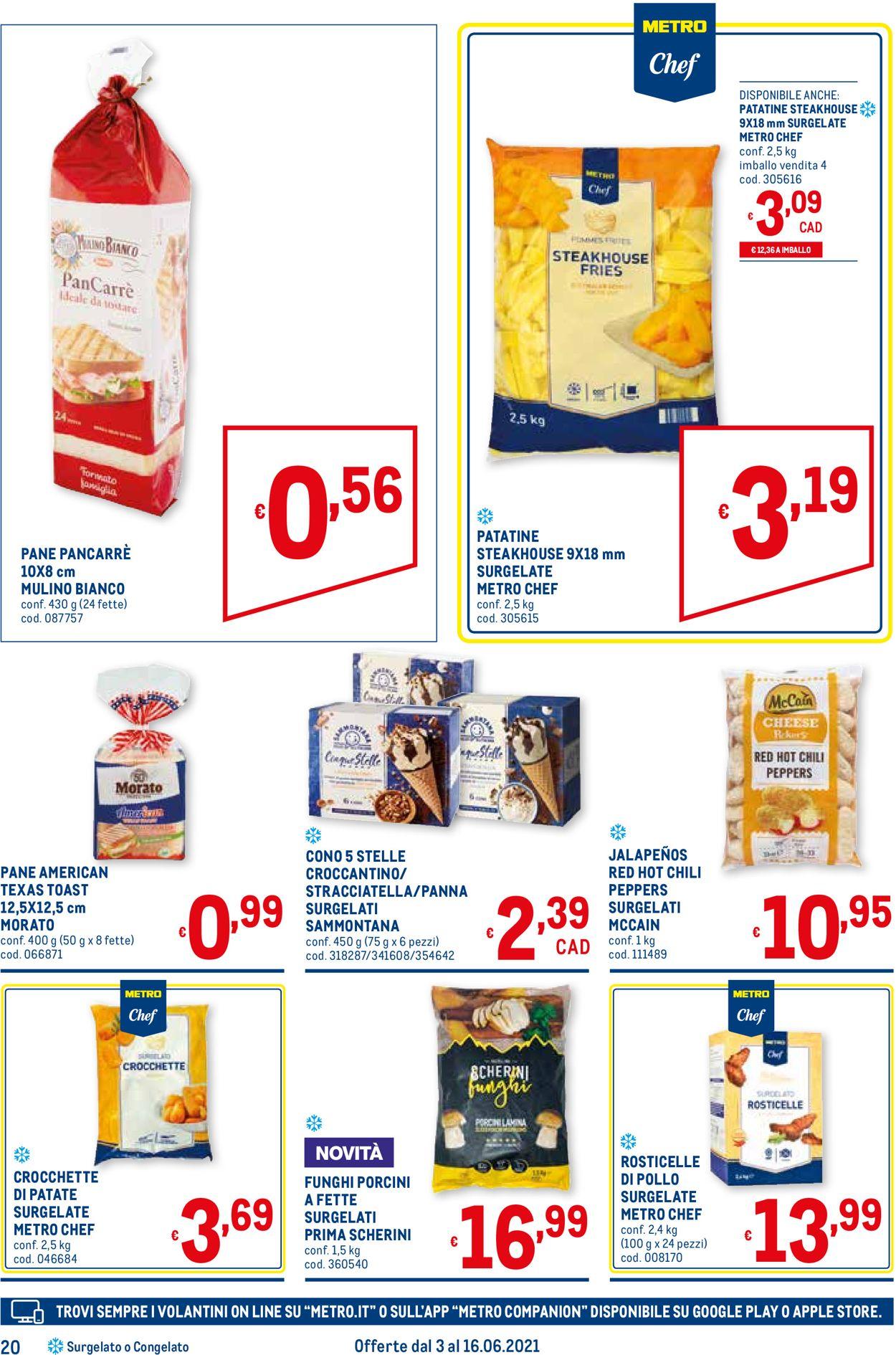 Volantino Metro - Offerte 03/06-16/06/2021 (Pagina 20)