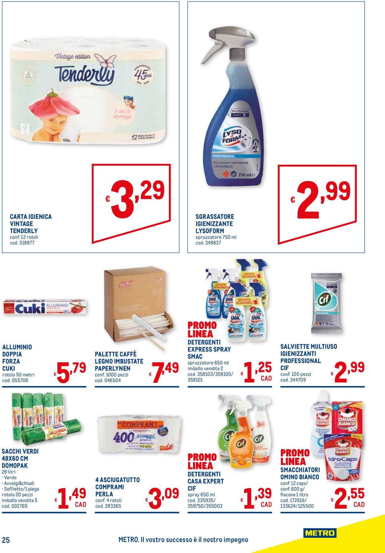 Volantino Metro - Offerte 03/06-16/06/2021 (Pagina 25)