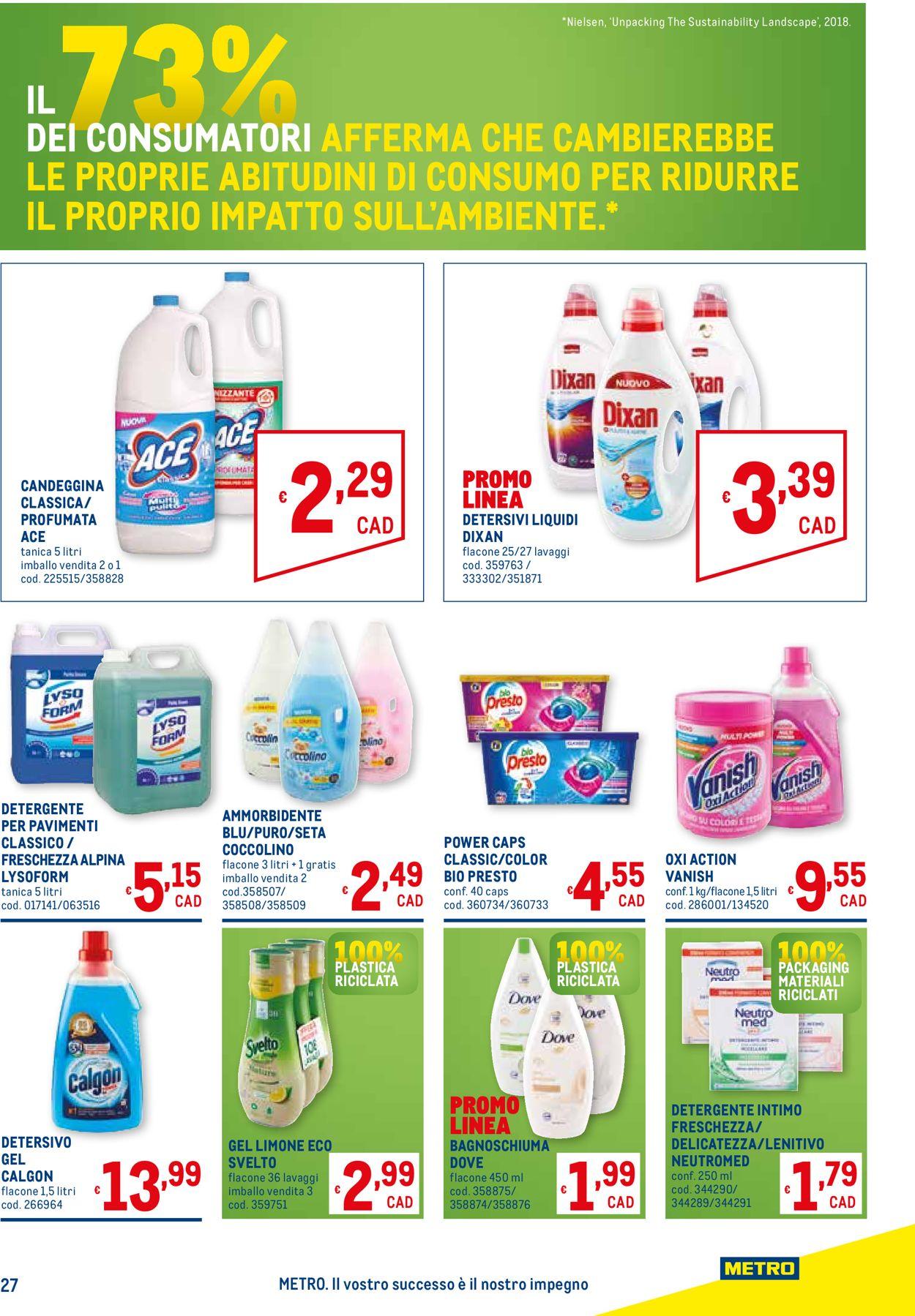 Volantino Metro - Offerte 03/06-16/06/2021 (Pagina 27)