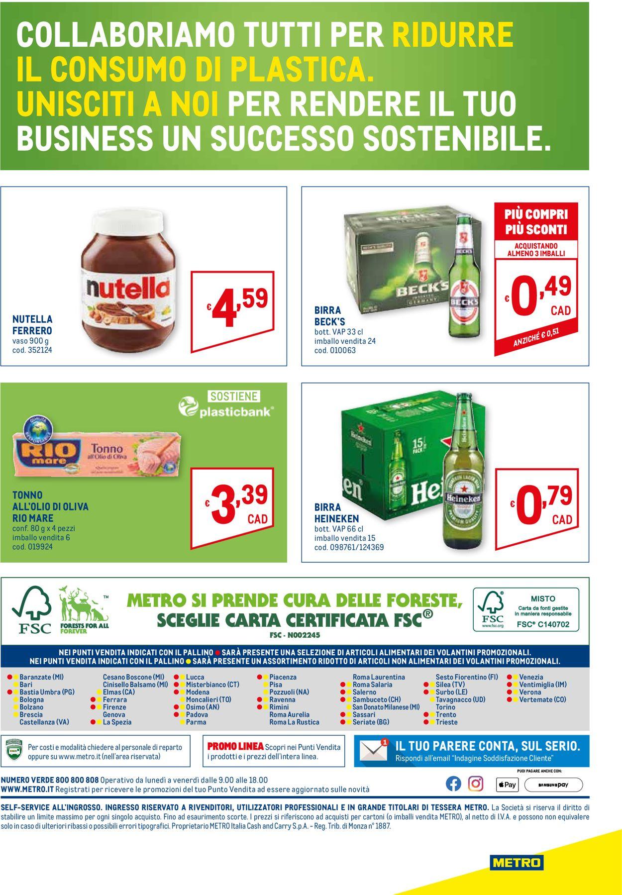 Volantino Metro - Offerte 03/06-16/06/2021 (Pagina 32)