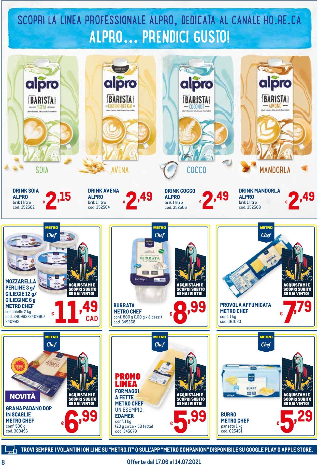 Volantino Metro - Offerte 17/06-14/07/2021 (Pagina 8)
