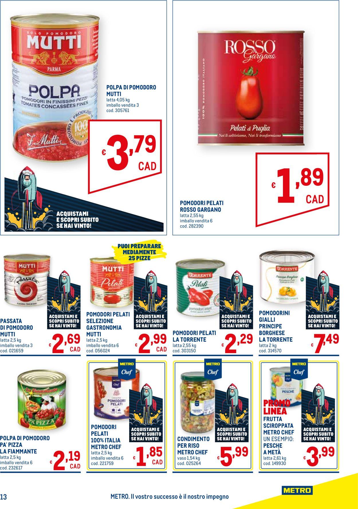 Volantino Metro - Offerte 17/06-14/07/2021 (Pagina 13)