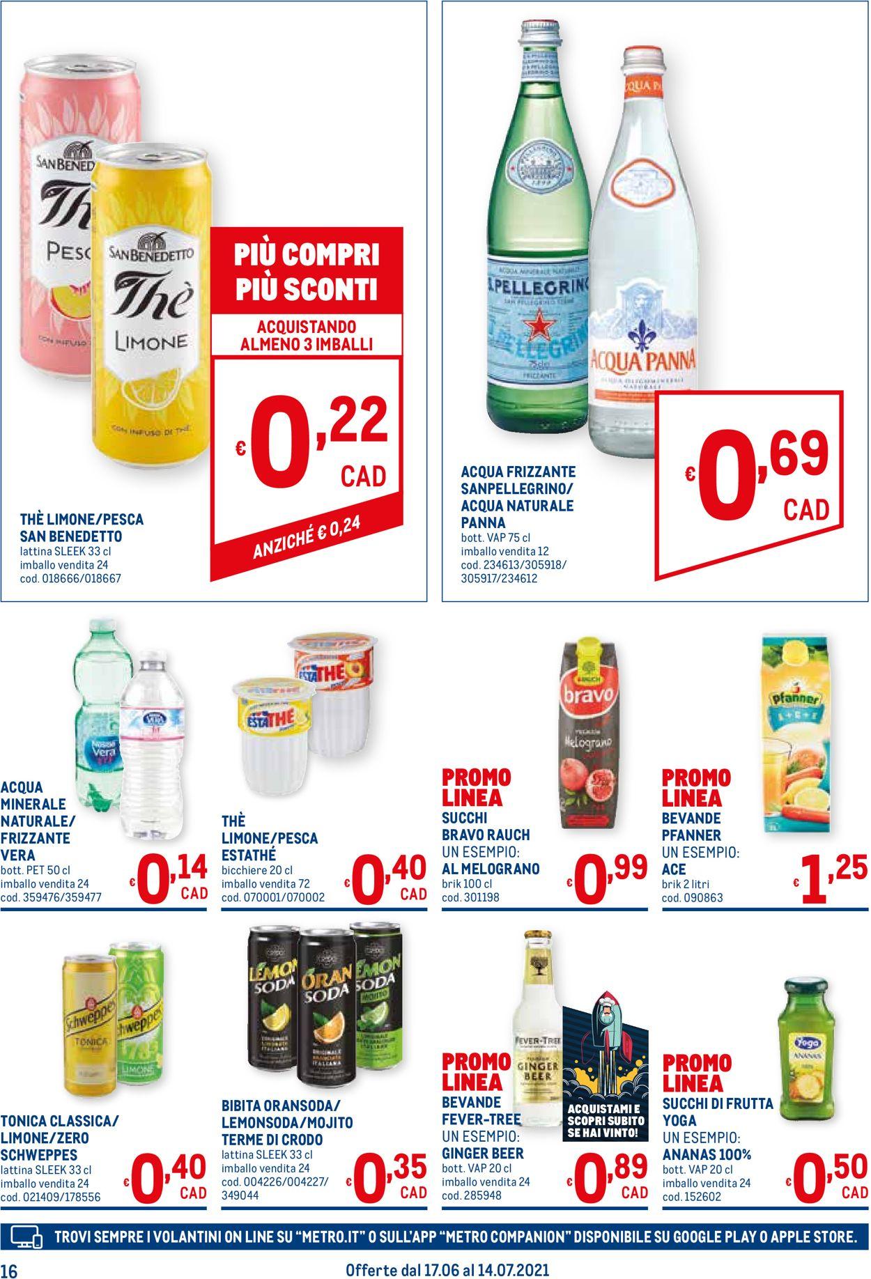 Volantino Metro - Offerte 17/06-14/07/2021 (Pagina 16)