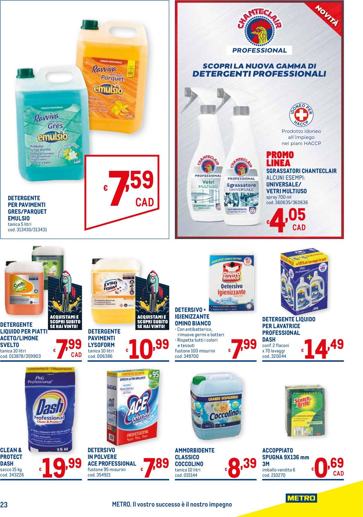 Volantino Metro - Offerte 17/06-14/07/2021 (Pagina 23)